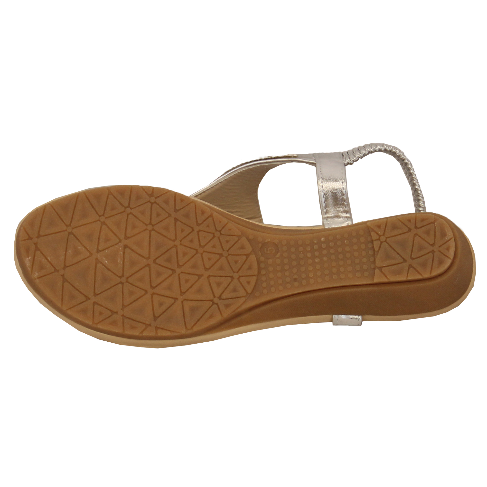 Ladies-Sandals-Kelsi-Womens-Diamante-Slip-On-Toe-Post-Shoes-Casual-Fashion-New thumbnail 26