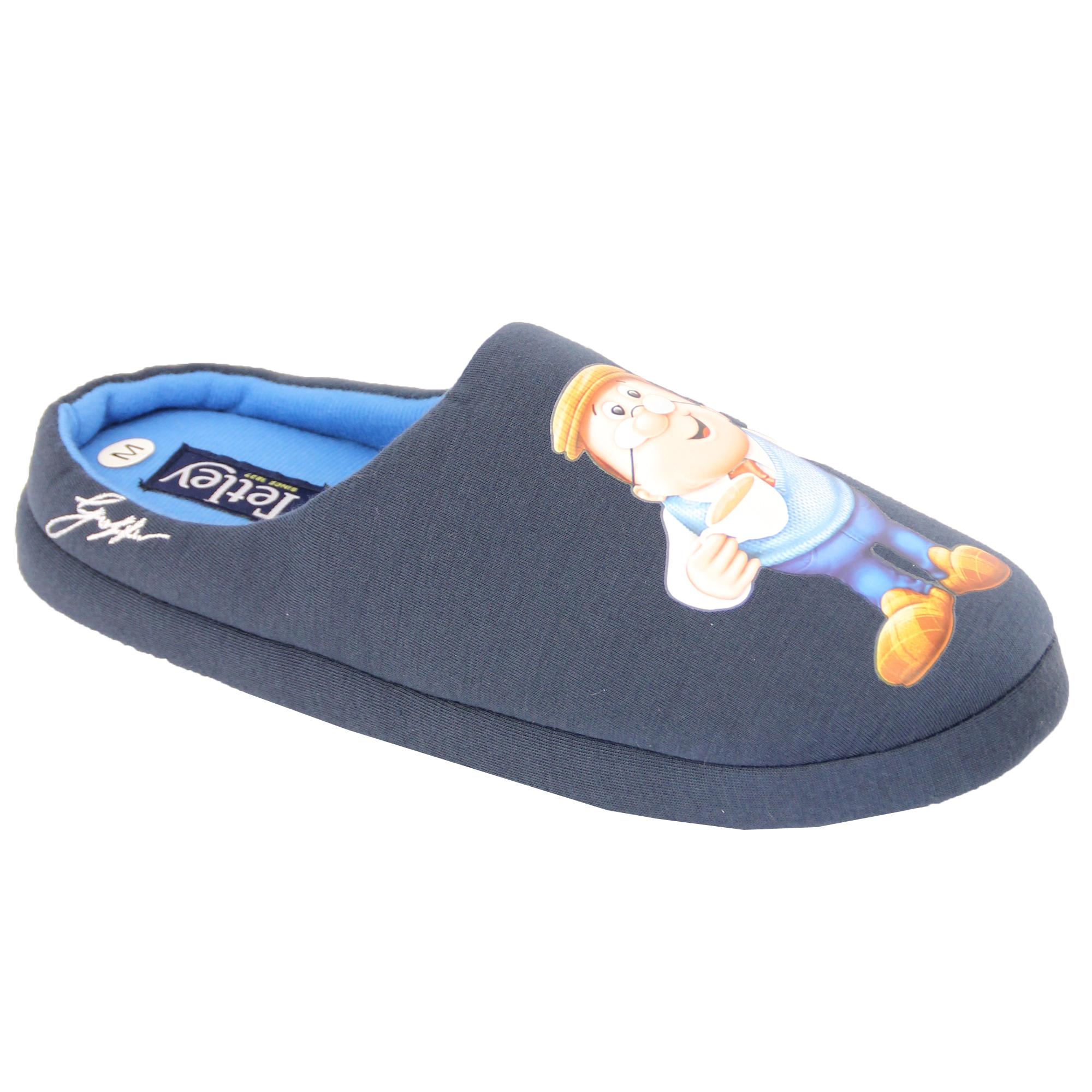 Pantofole-Uomo-Homer-Simpsons-Minion-Star-Wars-Tetley-Mule-Sandali-Novita-DUFF
