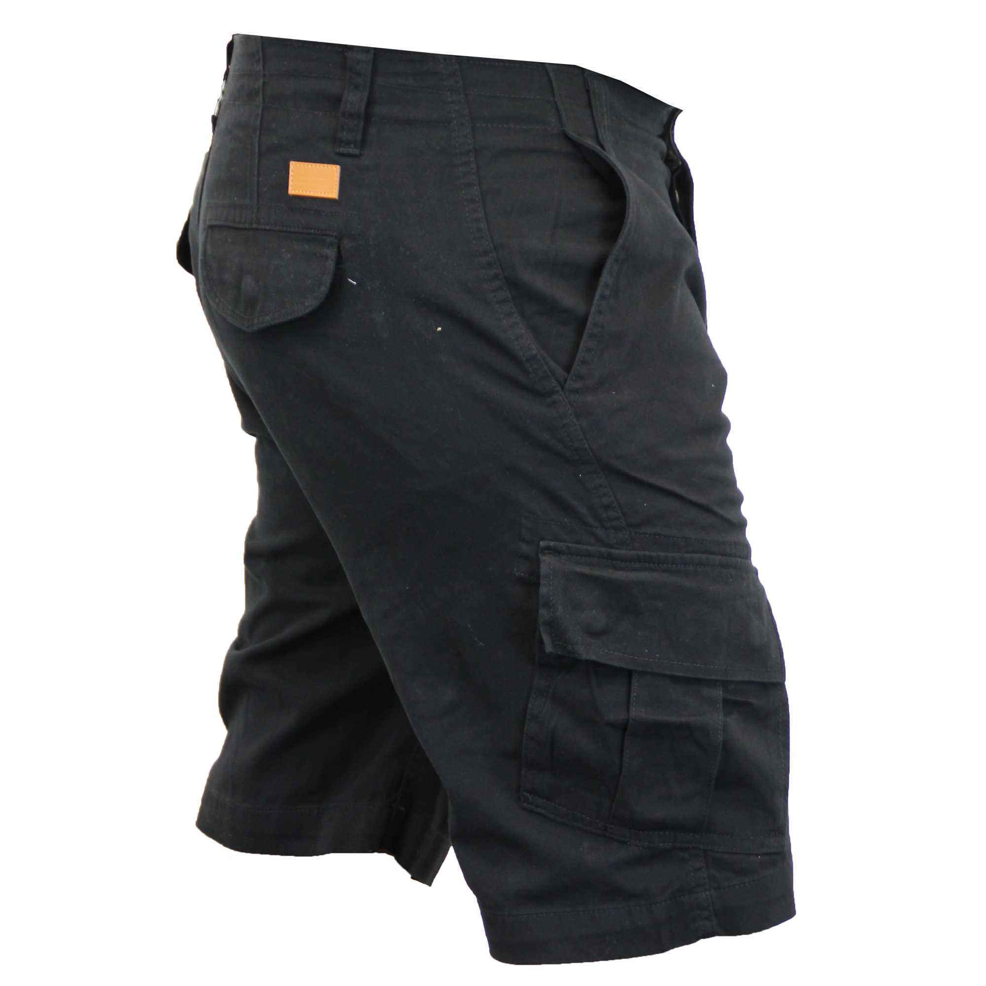 Mens-Cargo-Chino-Shorts-Threadbare-Combat-Knee-Length-Westace-Military-Summer thumbnail 3