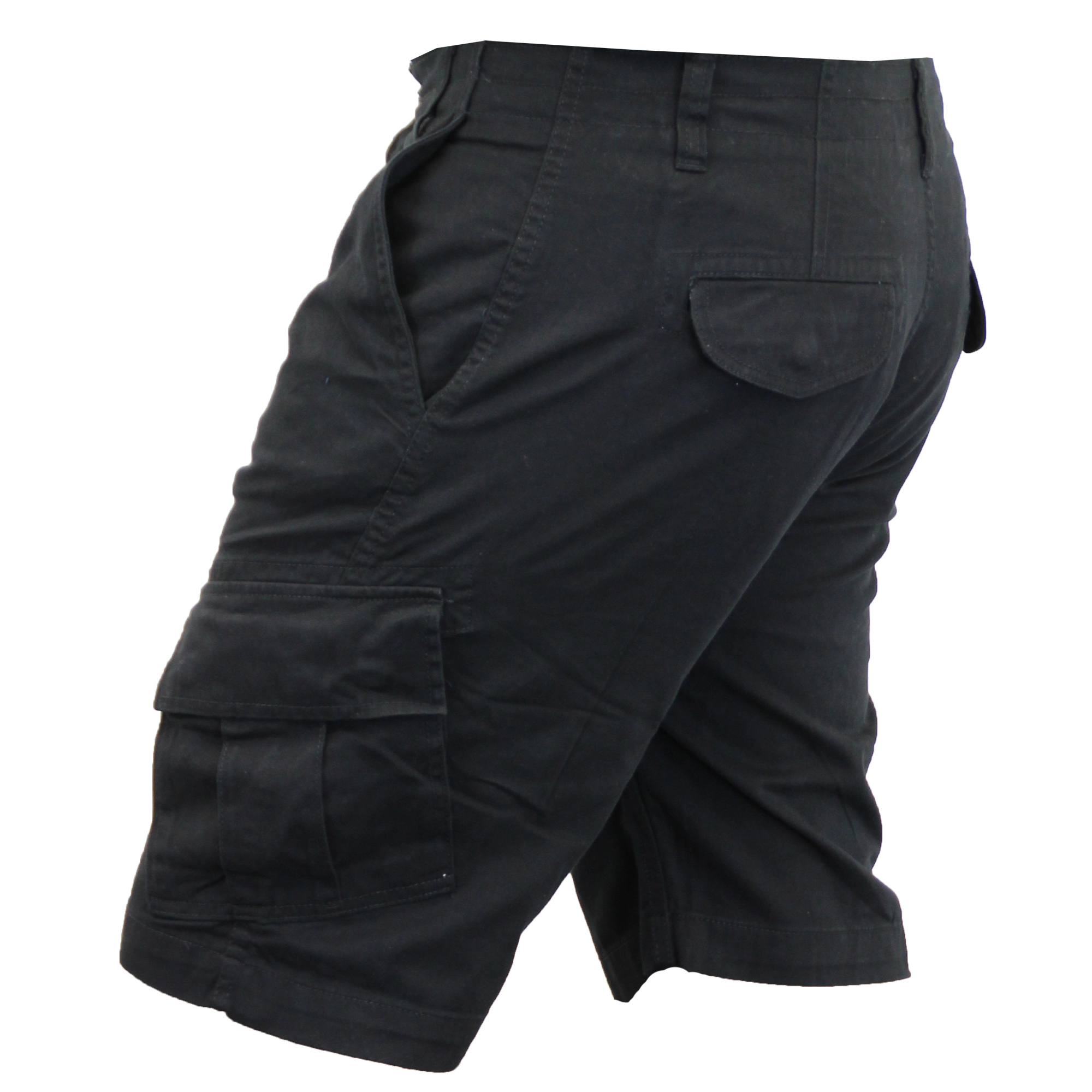 Mens-Cargo-Chino-Shorts-Threadbare-Combat-Knee-Length-Westace-Military-Summer thumbnail 4