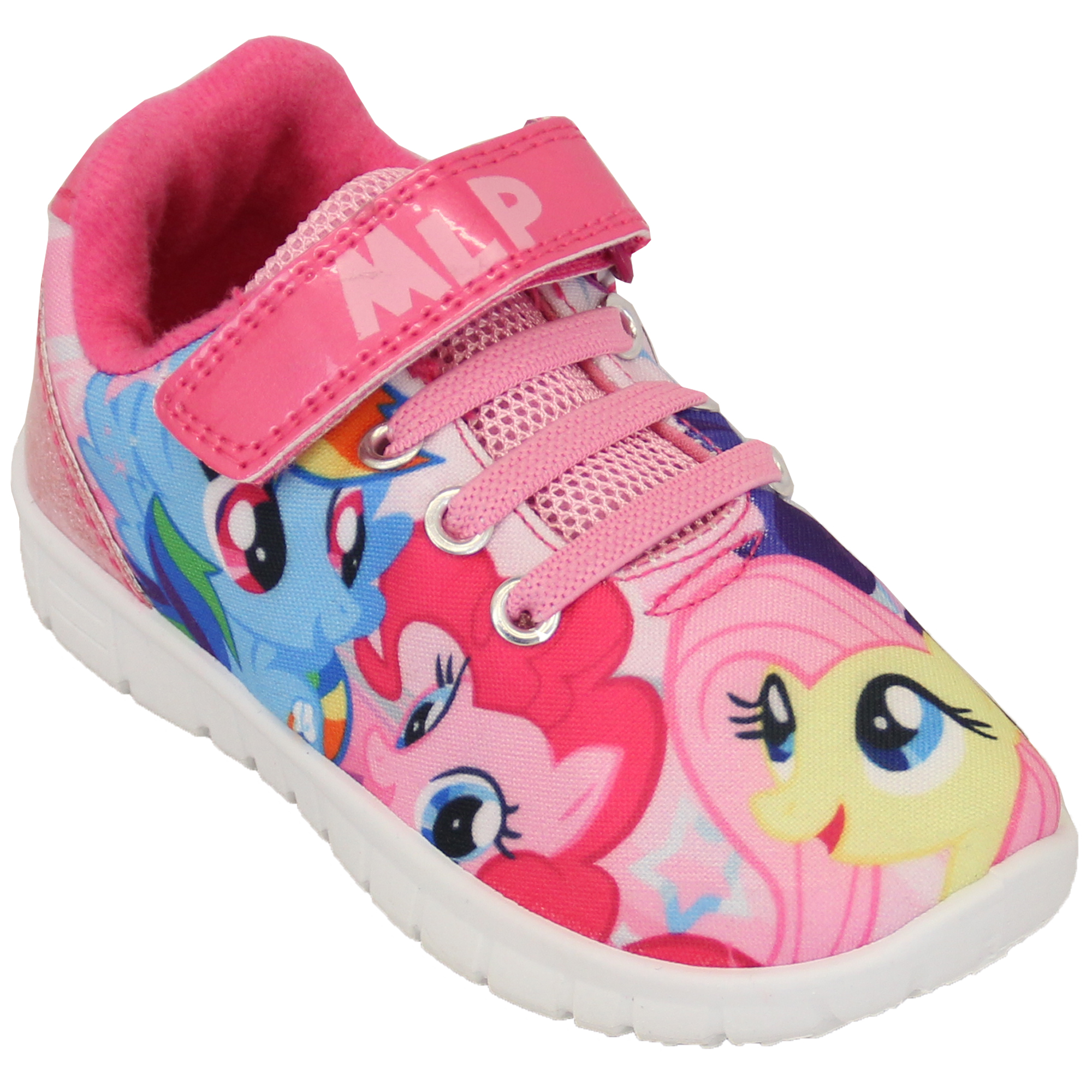 473966c4aaf3 Girls Trainers My Little Pony MLP Kids Shoes Lace Up Pumps Cartoon ...