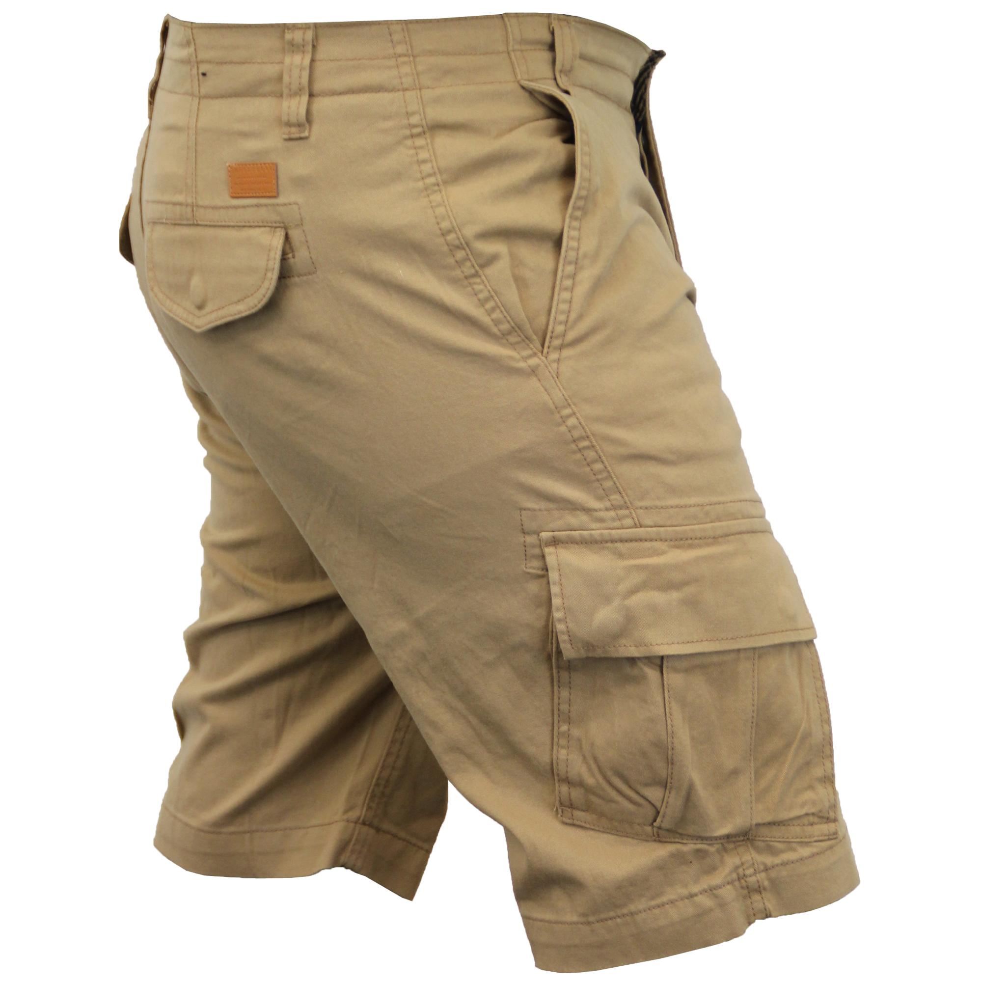 Mens-Cargo-Chino-Shorts-Threadbare-Combat-Knee-Length-Westace-Military-Summer thumbnail 22