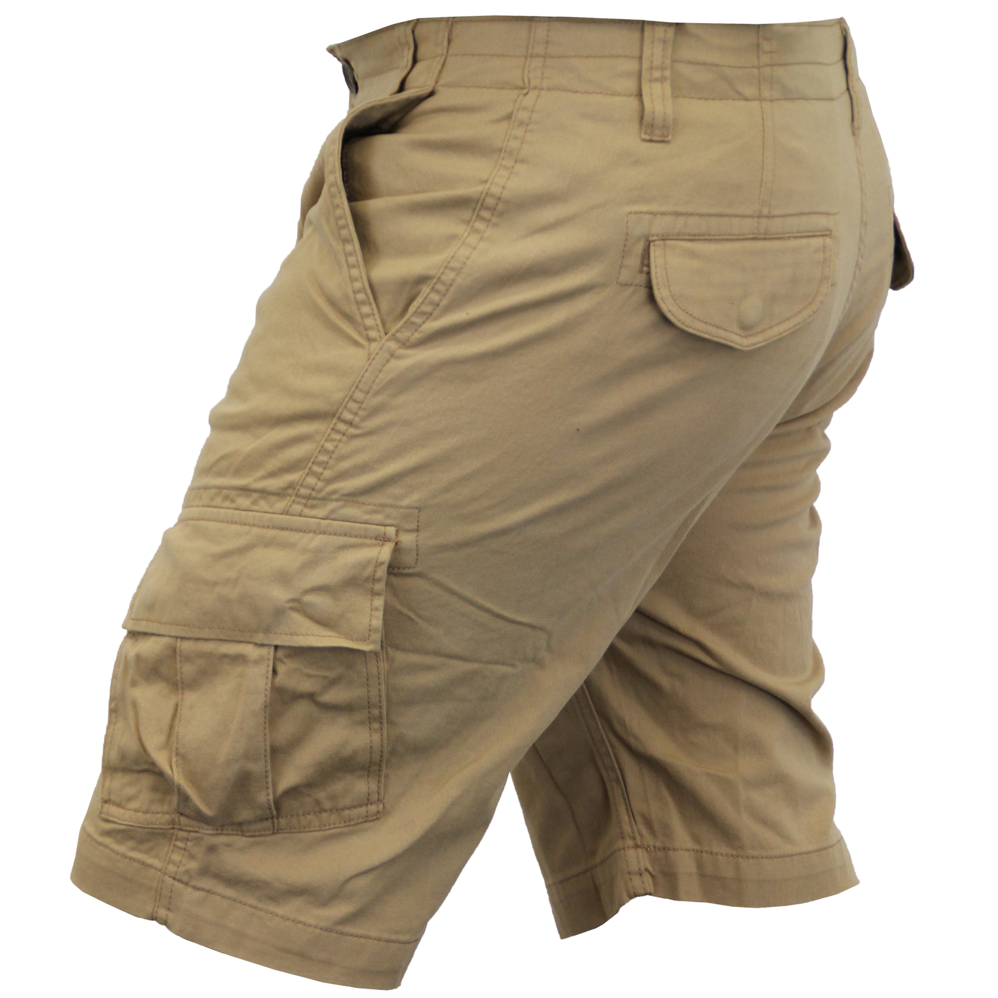 Mens-Cargo-Chino-Shorts-Threadbare-Combat-Knee-Length-Westace-Military-Summer thumbnail 23