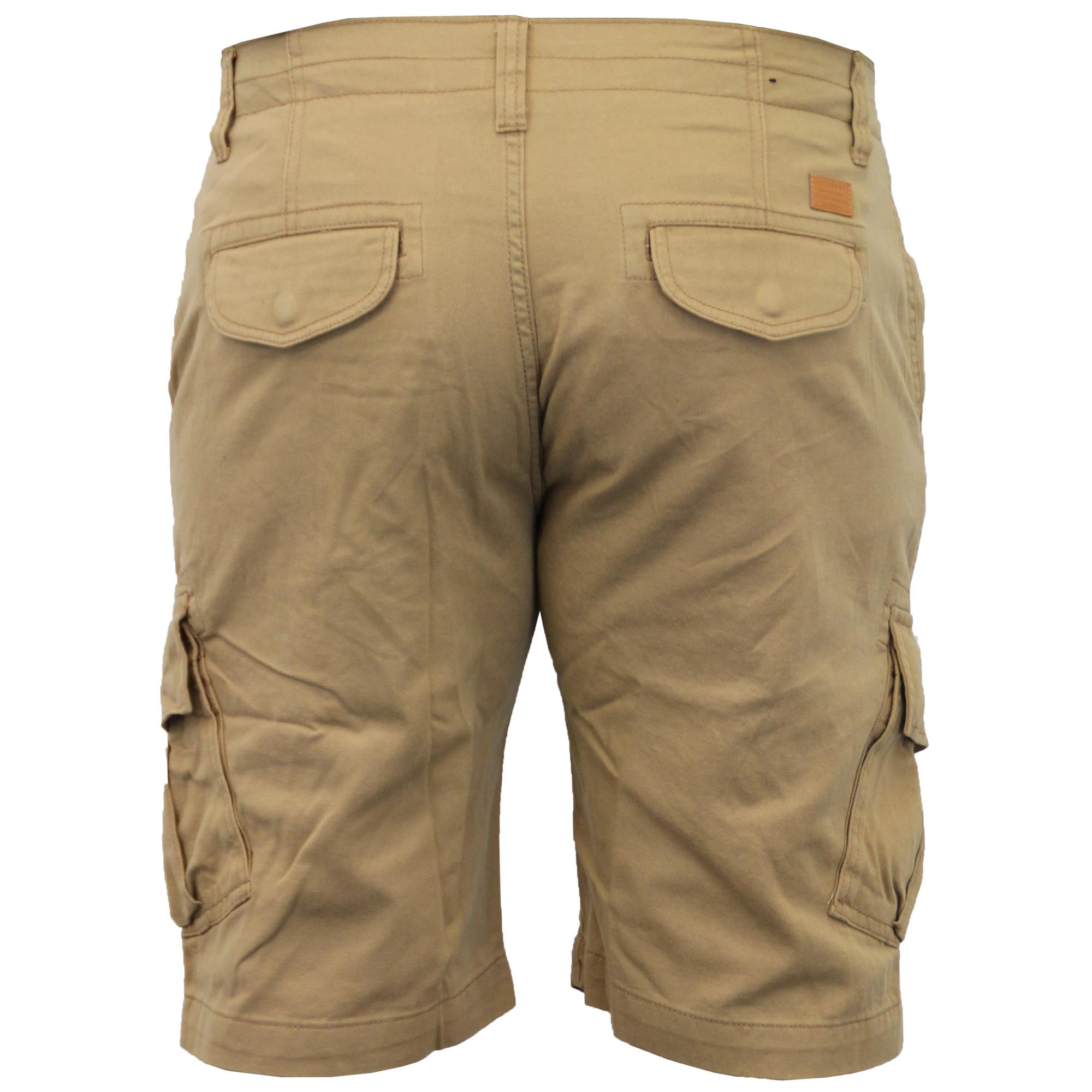 Mens-Cargo-Chino-Shorts-Threadbare-Combat-Knee-Length-Westace-Military-Summer thumbnail 24