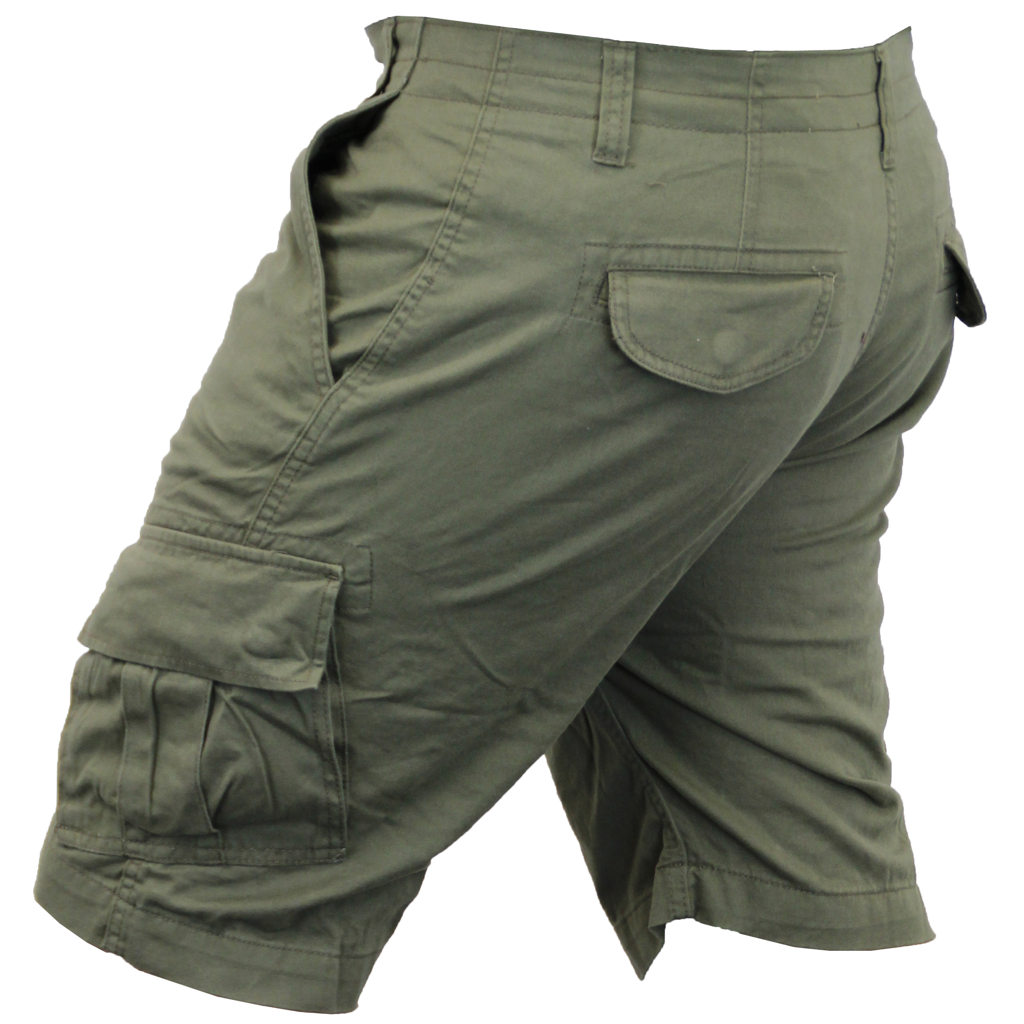 Mens-Cargo-Chino-Shorts-Threadbare-Combat-Knee-Length-Westace-Military-Summer thumbnail 18