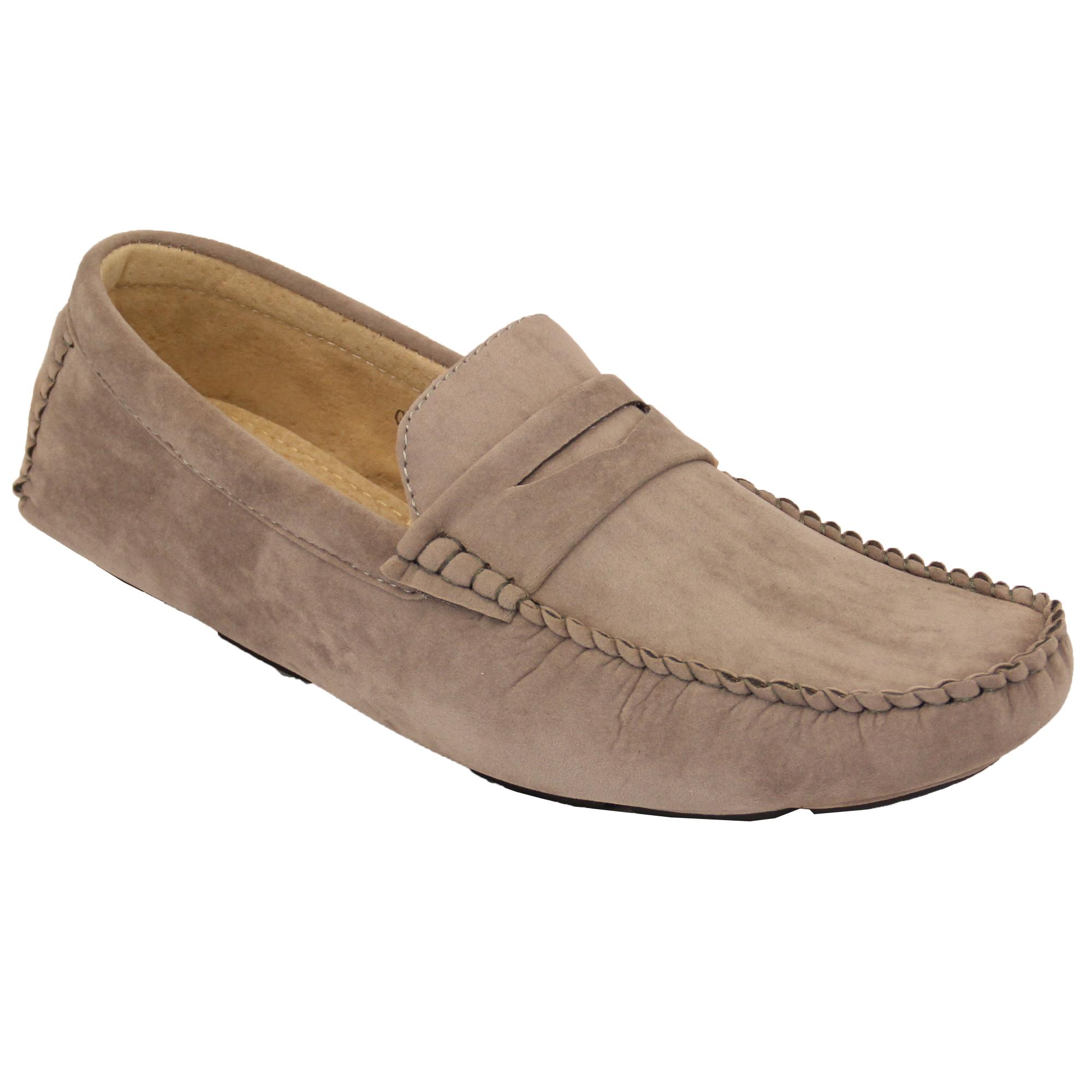 E Mens Sllip On Boat Shoes