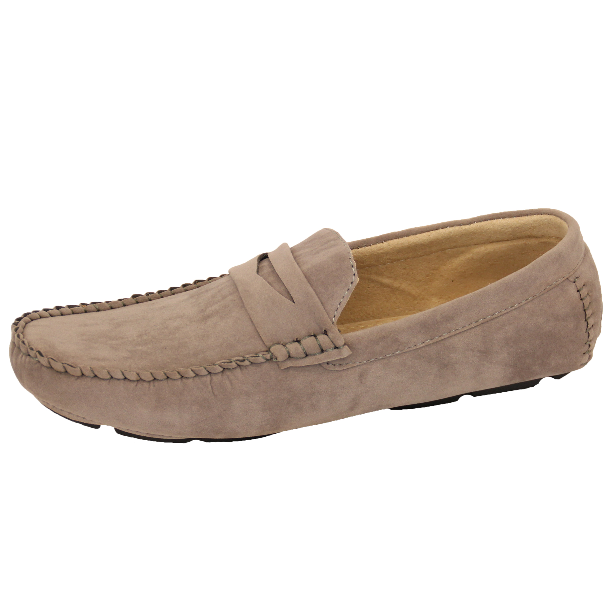 Mens-Moccasins-Suede-Leather-Look-Shoes-Boat-Slip-On-Tassel-Loafers-Smart-Formal thumbnail 14