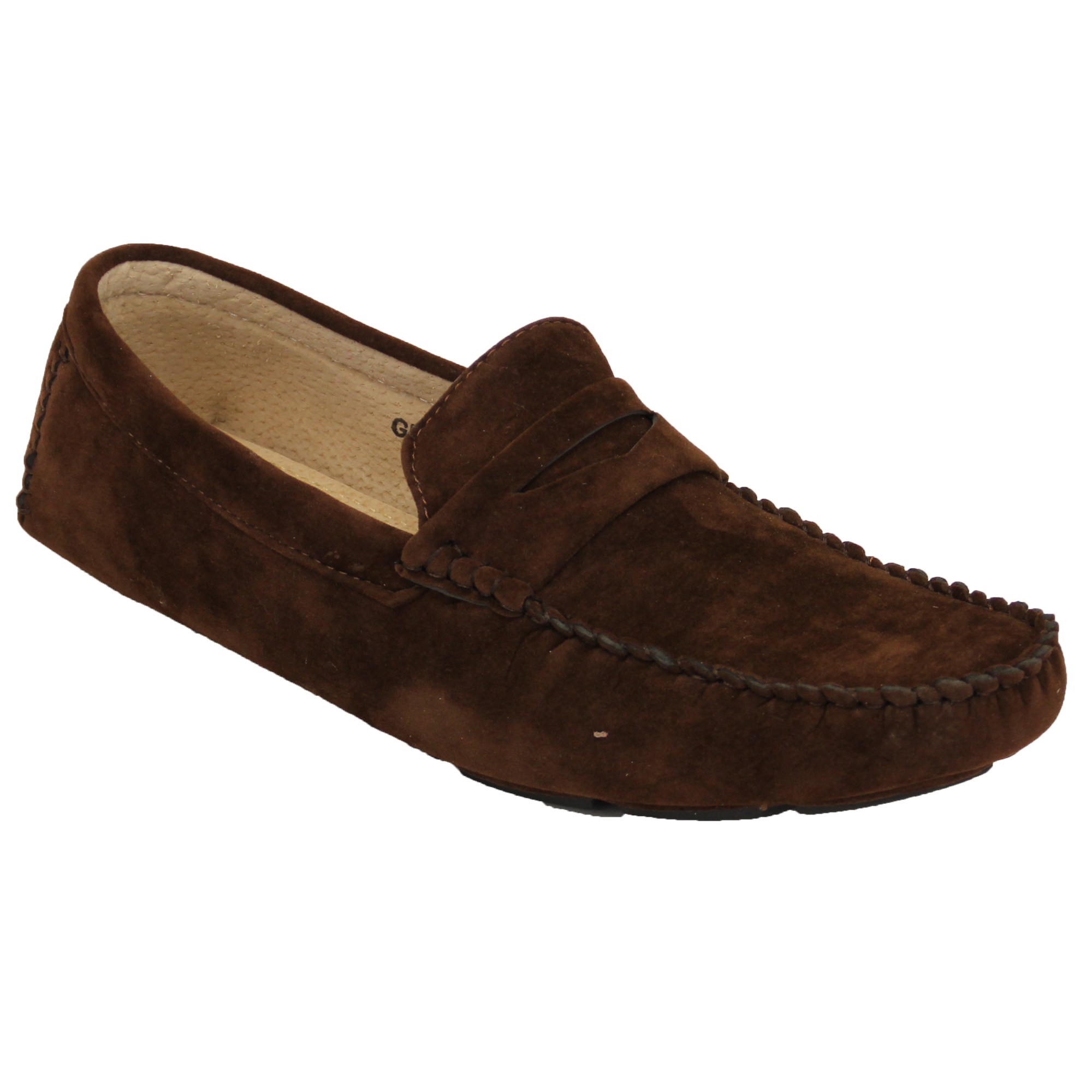 Mens-Moccasins-Suede-Leather-Look-Shoes-Boat-Slip-On-Tassel-Loafers-Smart-Formal thumbnail 6