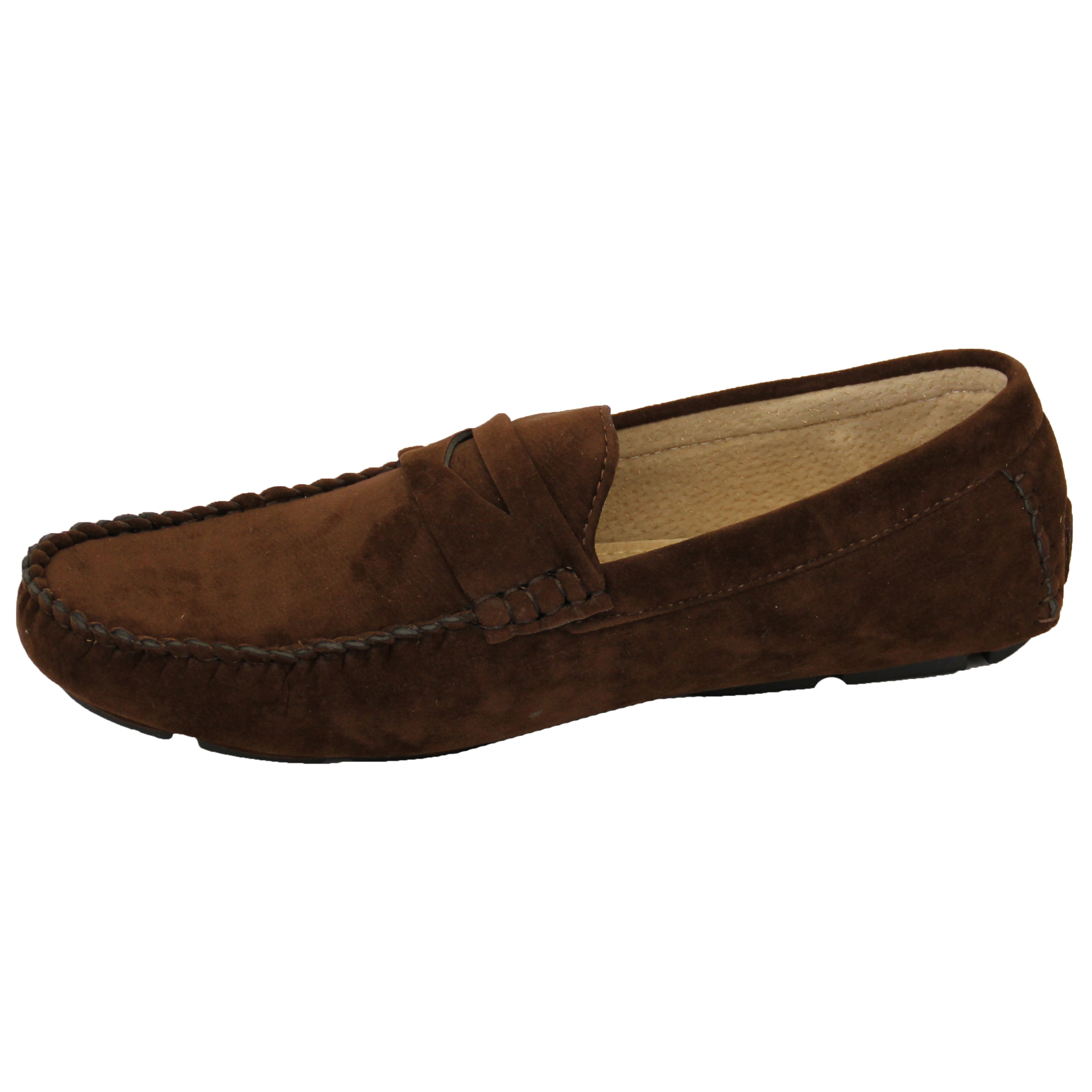 Mens-Moccasins-Suede-Leather-Look-Shoes-Boat-Slip-On-Tassel-Loafers-Smart-Formal thumbnail 7