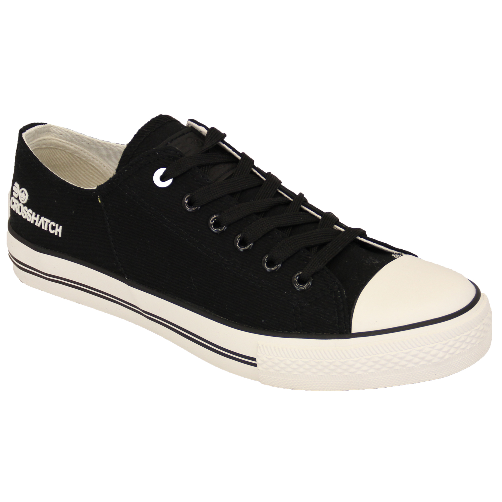 New Tokyo Laundry Low Top Lace Up Canvas Trainers Plimsolls Shoes Size 7-11