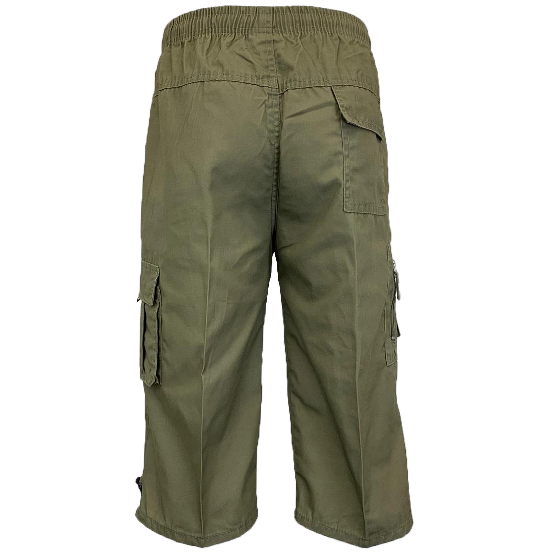 Mens-Combat-Cargo-Shorts-3-4-Length-Plain-Sport-Fashion-Casual-Summer-New thumbnail 13