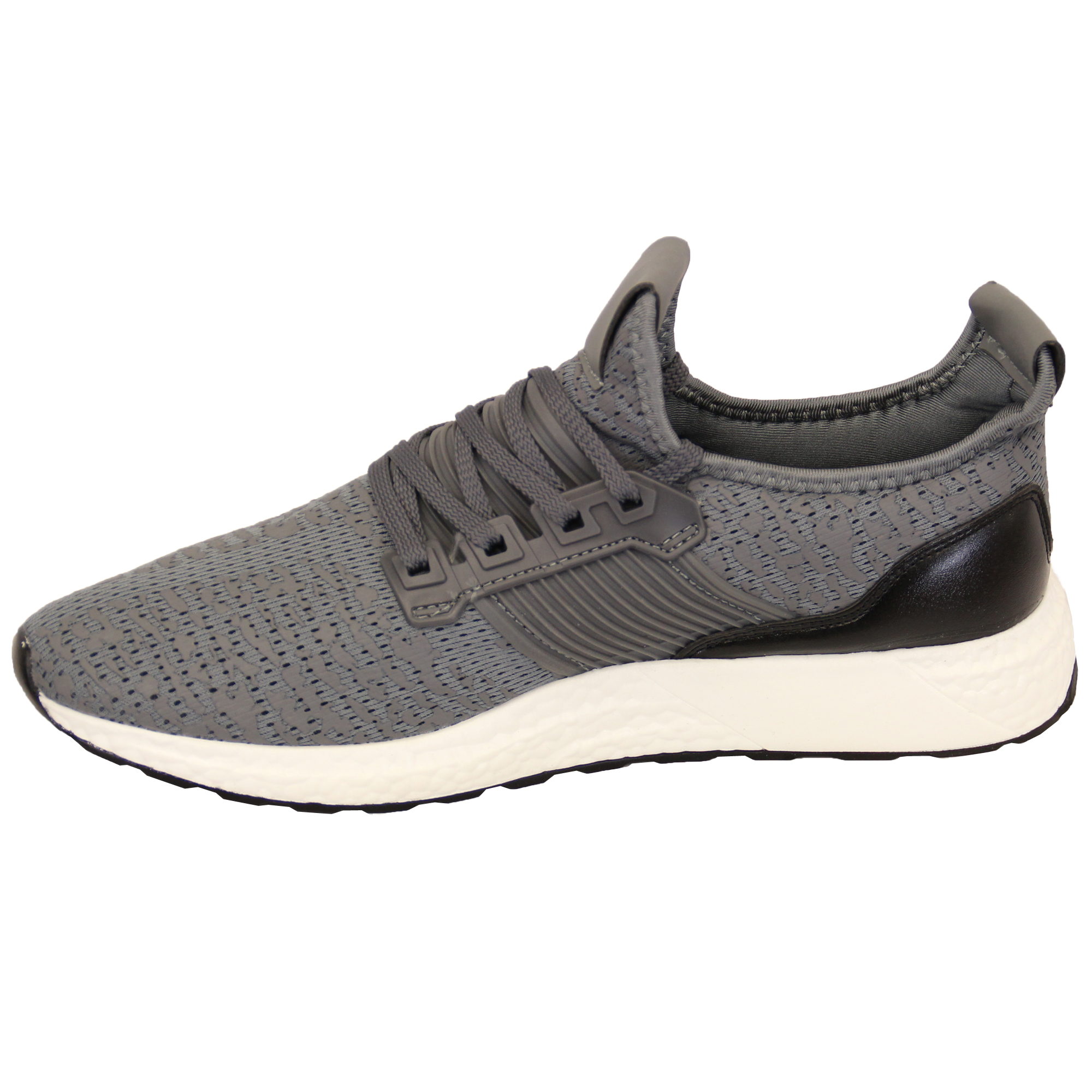 Mens-Trainers-Shoes-Lace-Up-Running-Gym-Sports-Mesh-Casual-Summer-Fashion-New thumbnail 3