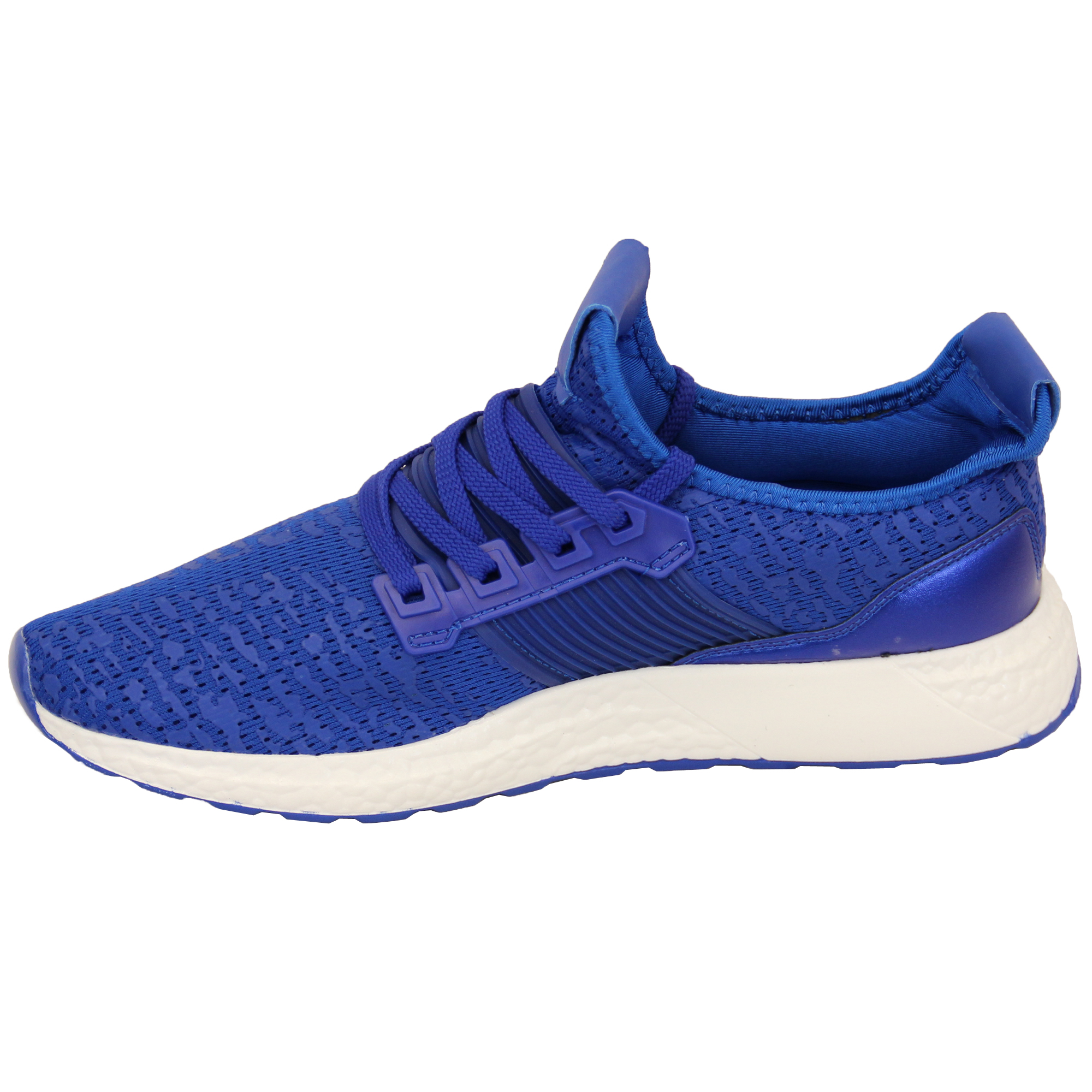 Mens-Trainers-Shoes-Lace-Up-Running-Gym-Sports-Mesh-Casual-Summer-Fashion-New thumbnail 9