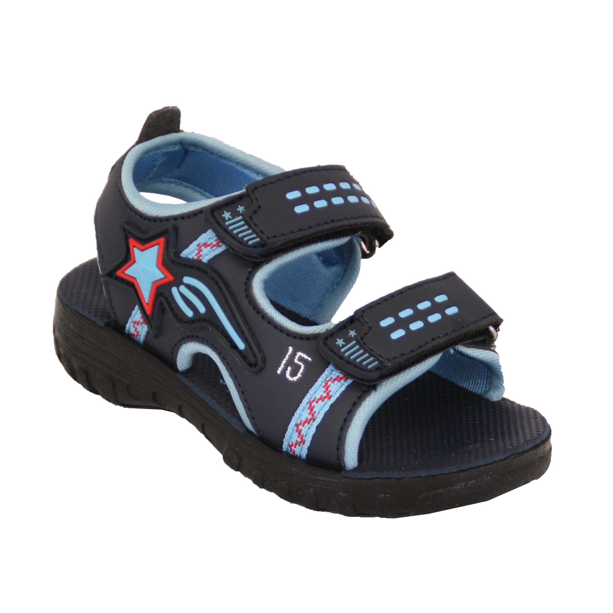 4667c3d3e1b Boys Gladiator Sandals Gezer Kids Strap Beach Sports Summer Hiking ...