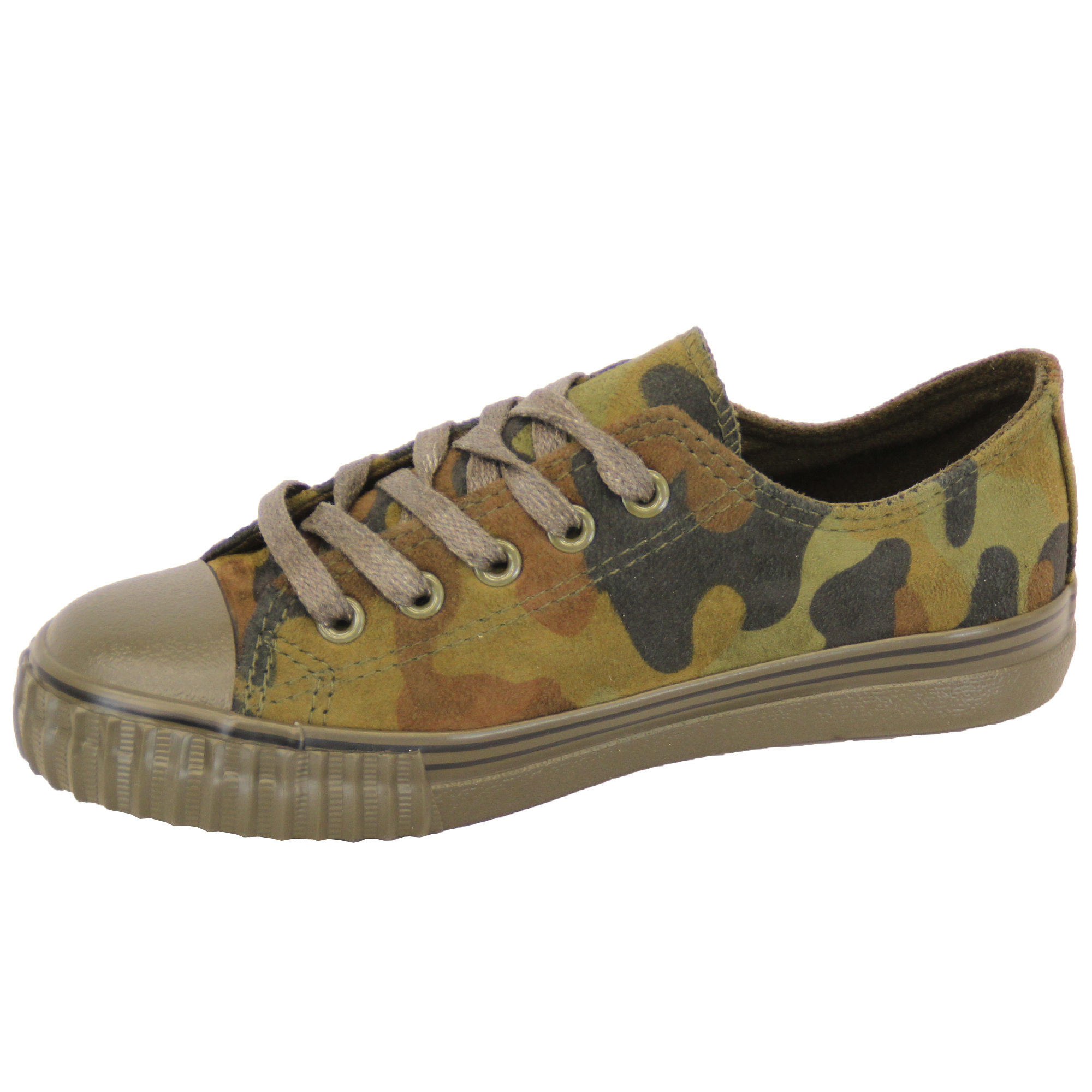 Boys-Girls-Camouflage-Pumps-Kids-Military-Trainers-Lace-Up-Shoes-Casual-Summer thumbnail 7