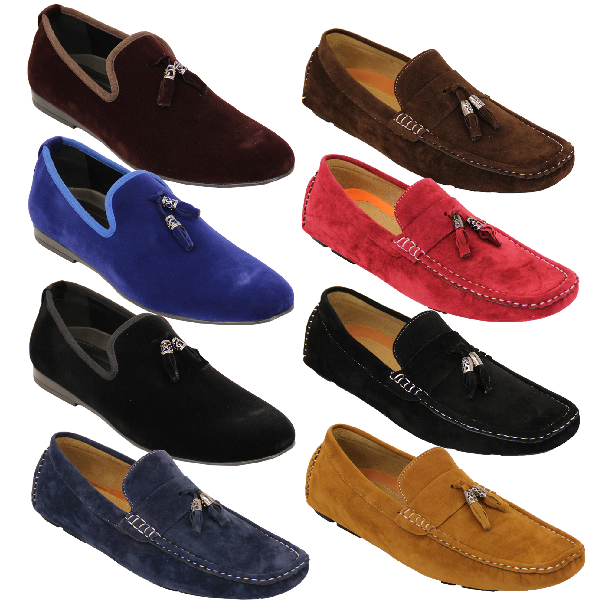 Mens Suede Shoes With Buckle