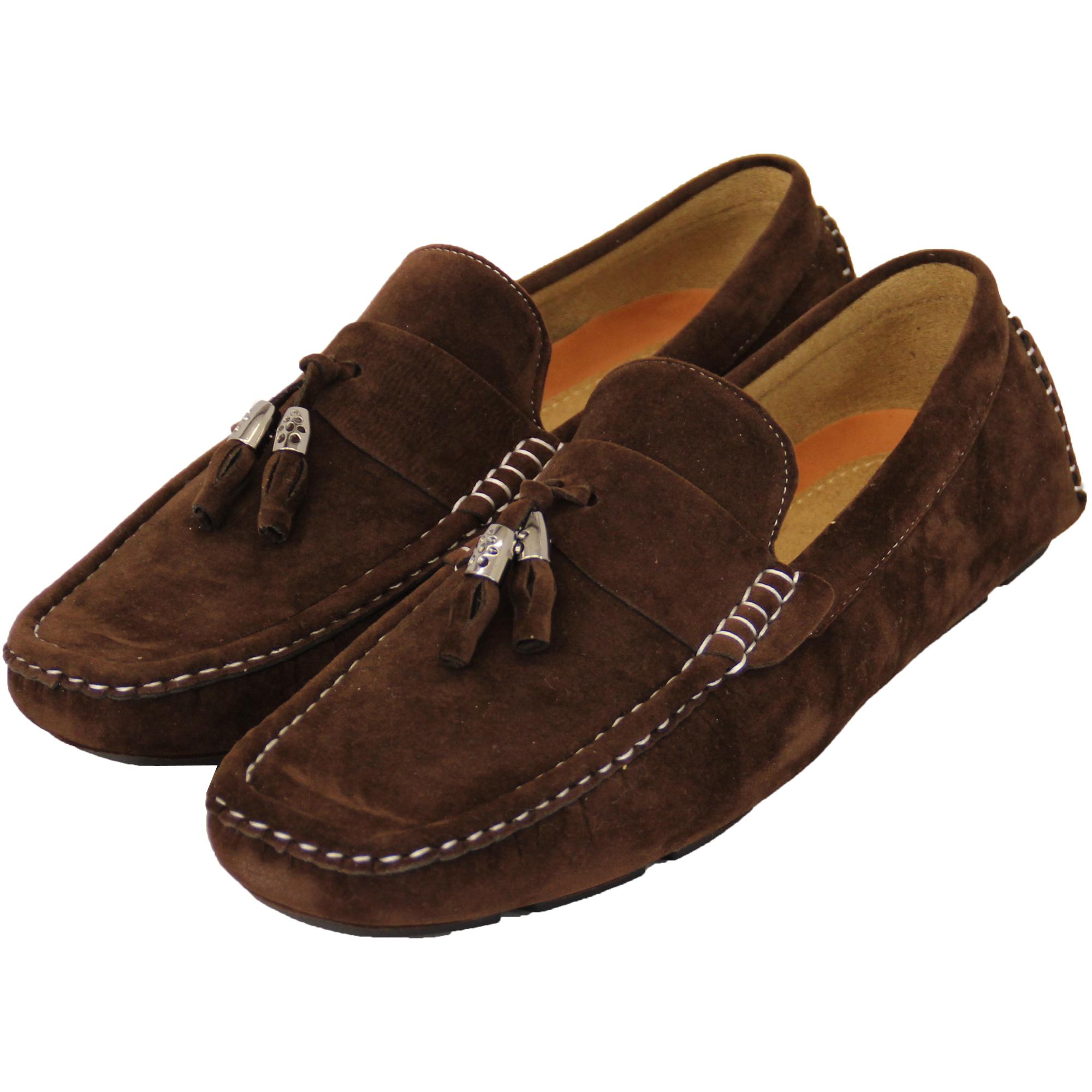 Men S Slip On Moccasin Shoes