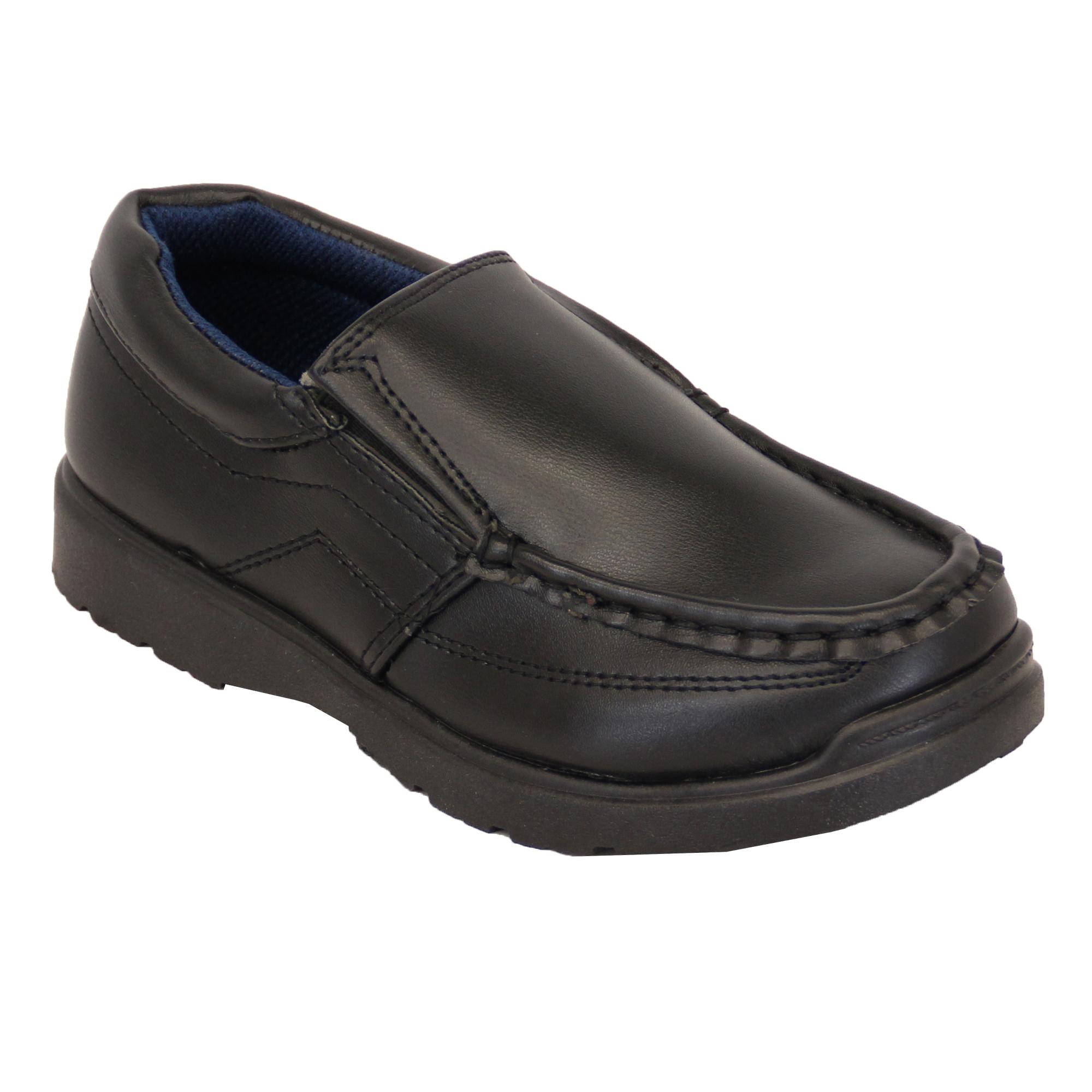 3bc28b127 Niño Escuela Zapatos Negros los Niños Pequeños Mocasines de Vestir ...