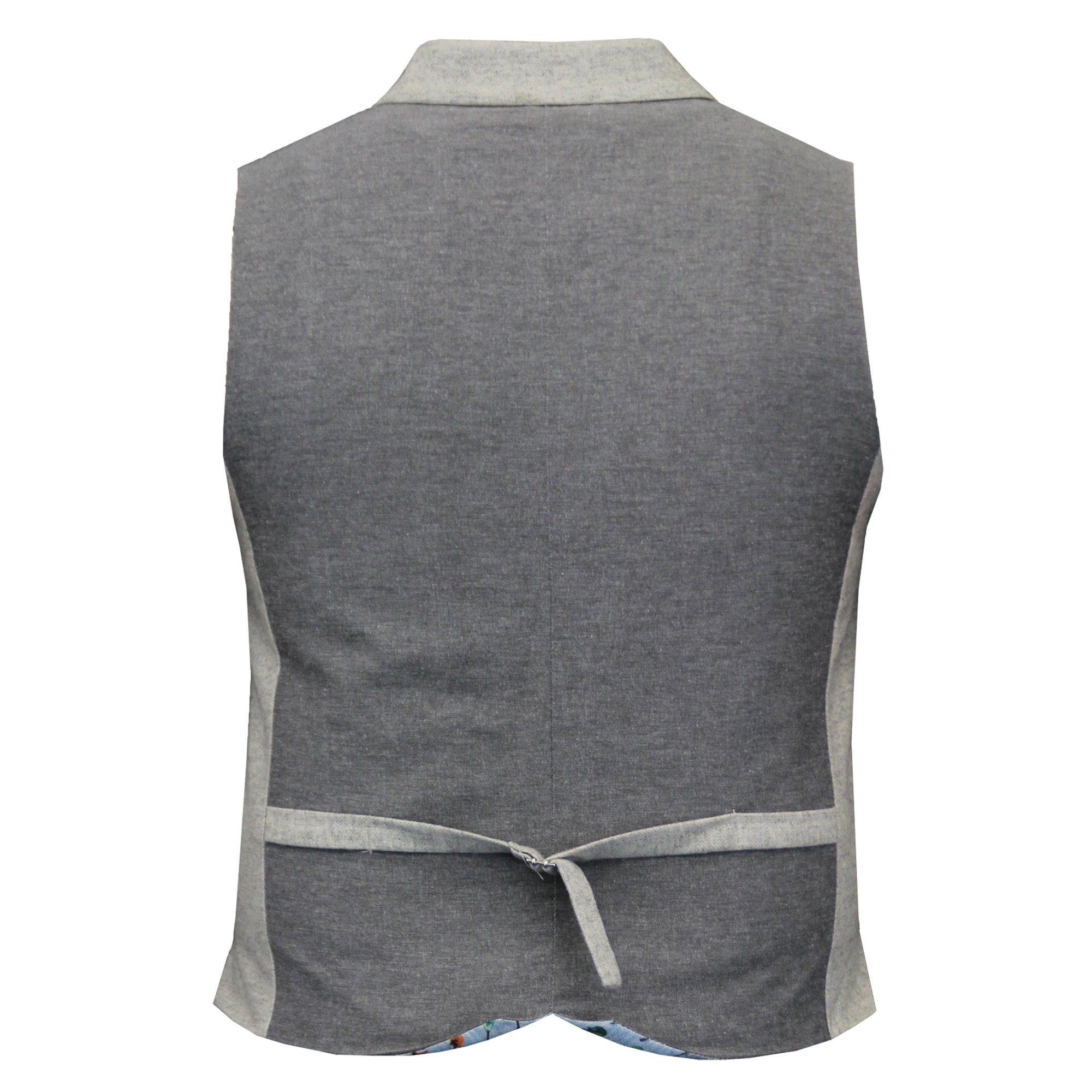 Mens-Waistcoat-Wool-Mix-Cavani-Formal-Vest-Herringbone-Tweed-Check-Party-Smart thumbnail 22