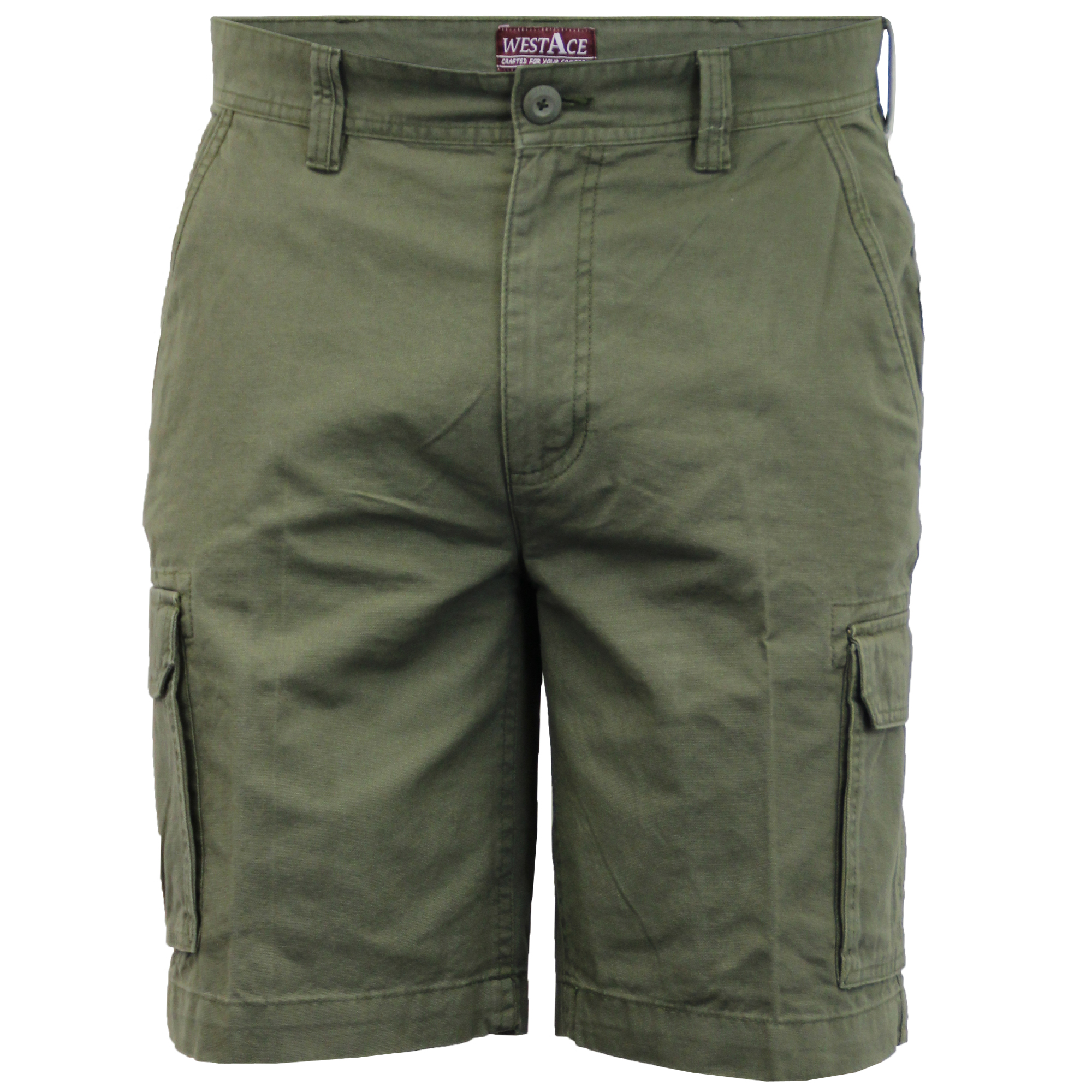 Mens-Cargo-Chino-Shorts-Threadbare-Combat-Knee-Length-Westace-Military-Summer thumbnail 13