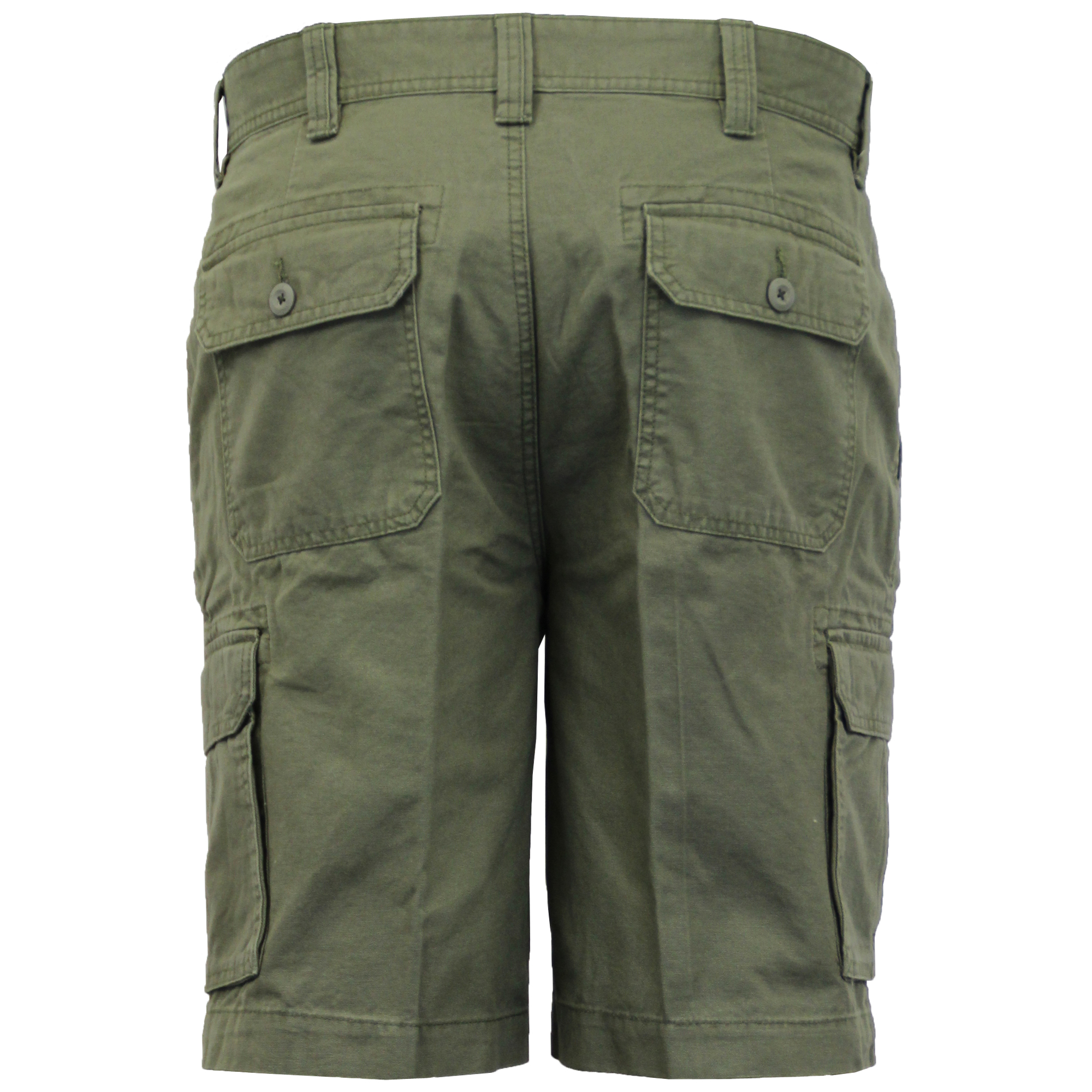 Mens-Cargo-Chino-Shorts-Threadbare-Combat-Knee-Length-Westace-Military-Summer thumbnail 14