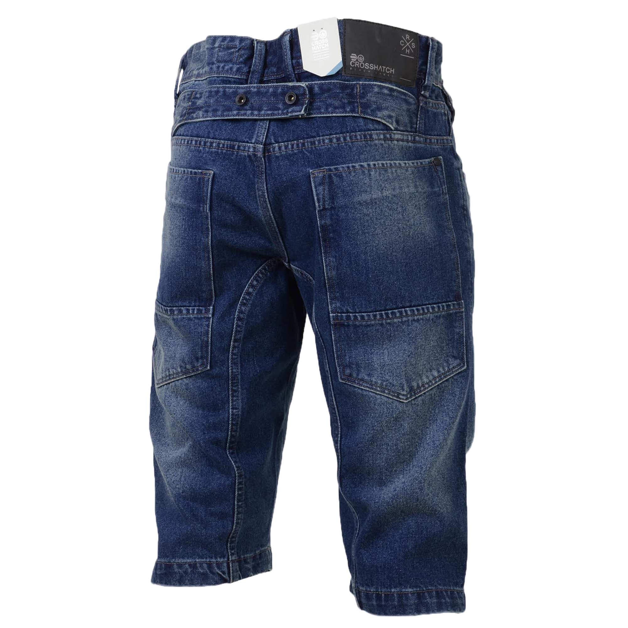herren jeans shorts gitterschnitt combat cargo threadbare knielang jeans sommer ebay. Black Bedroom Furniture Sets. Home Design Ideas