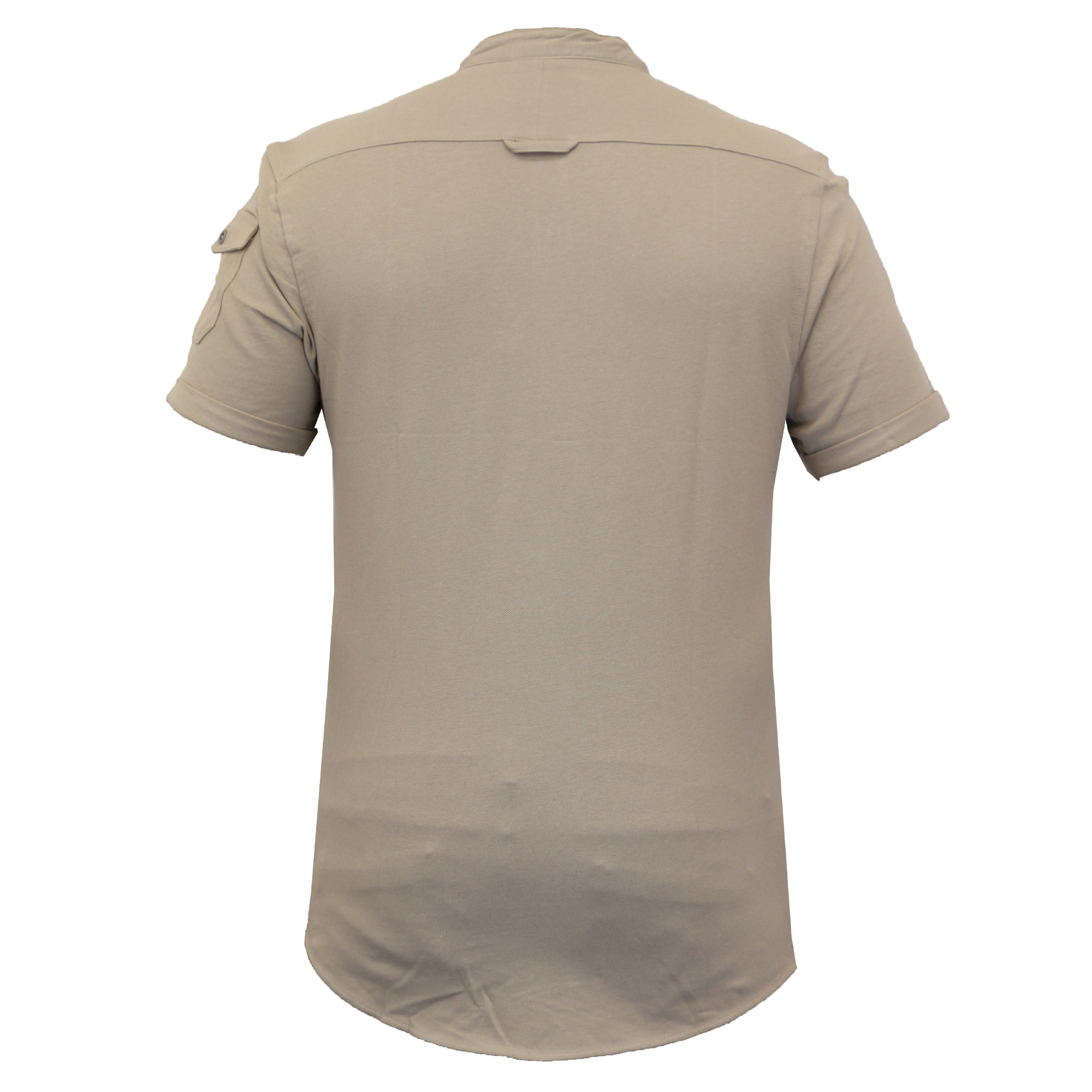 Mens-Linen-Shirt-Threadbare-Short-Sleeved-Brave-Soul-Collared-Casual-Summer-New thumbnail 14