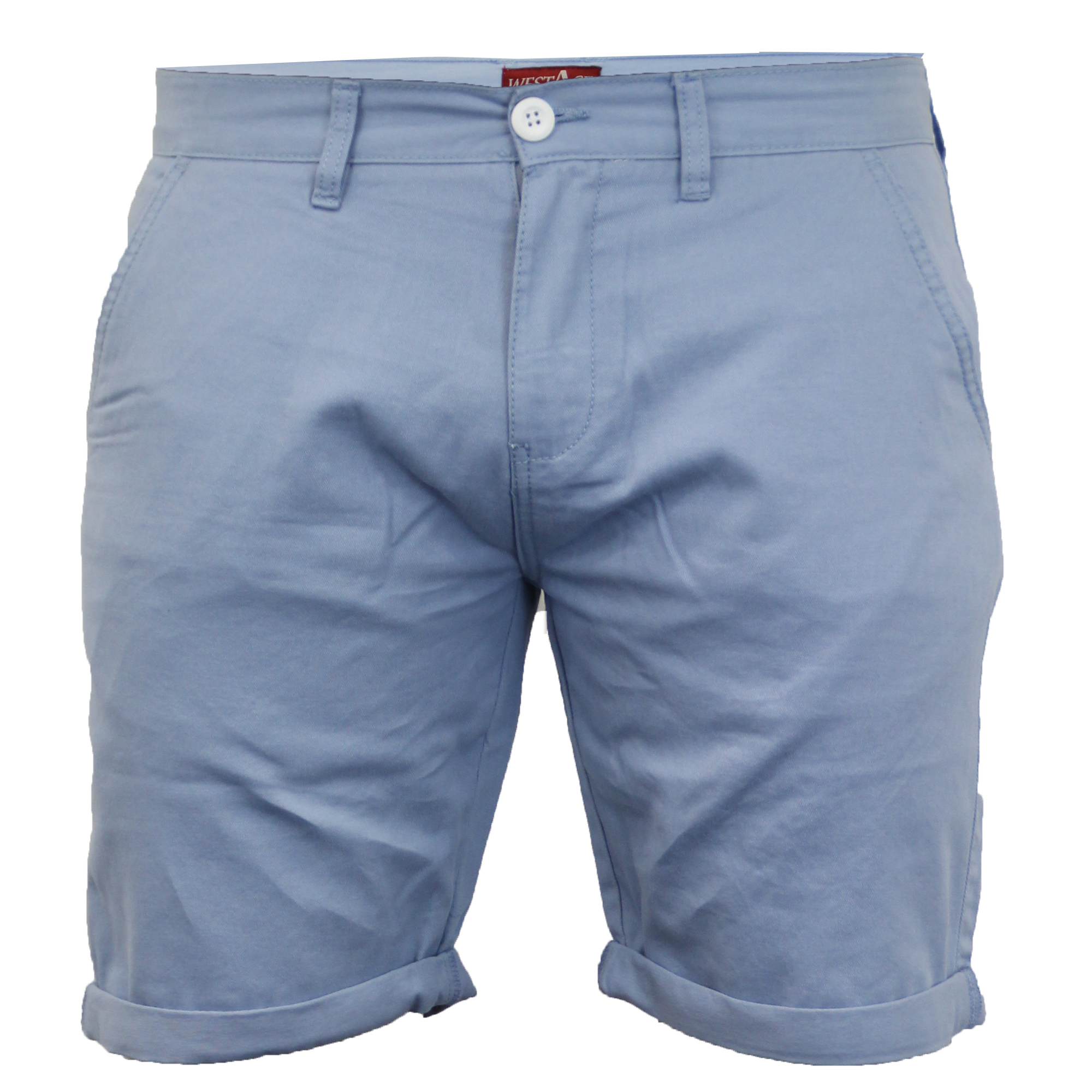 Mens-Chino-Shorts-Threadbare-Pants-Westace-Stallion-Knee-Length-Roll-Up-Summer thumbnail 12