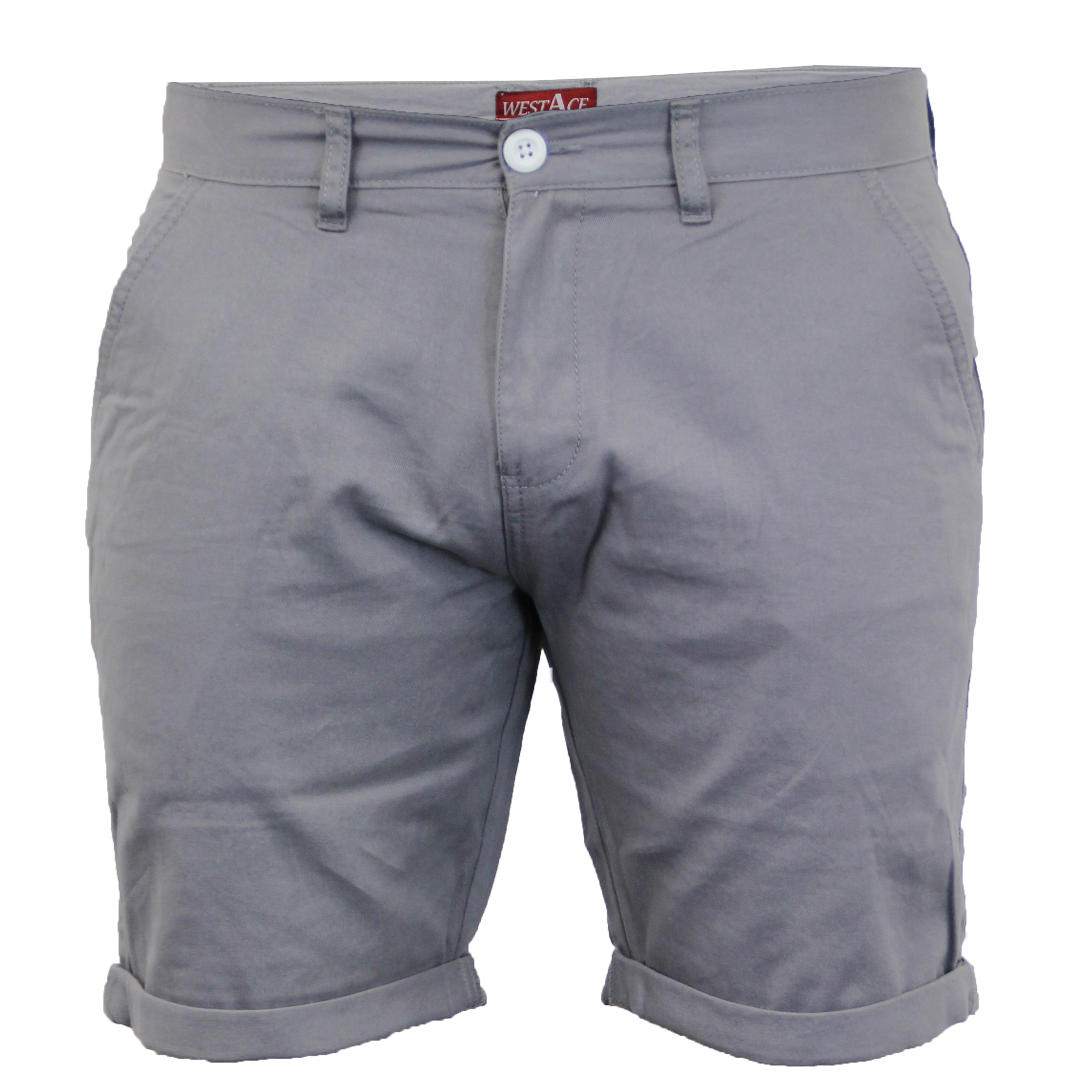 Mens-Chino-Shorts-Threadbare-Pants-Westace-Stallion-Knee-Length-Roll-Up-Summer thumbnail 19