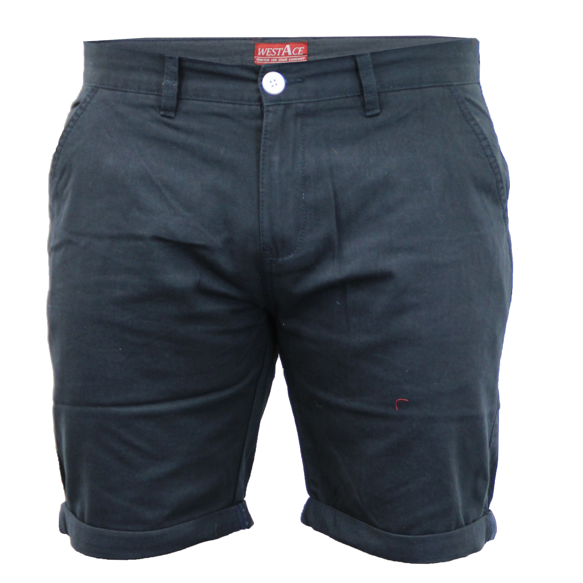 Mens-Chino-Shorts-Threadbare-Pants-Westace-Stallion-Knee-Length-Roll-Up-Summer thumbnail 28