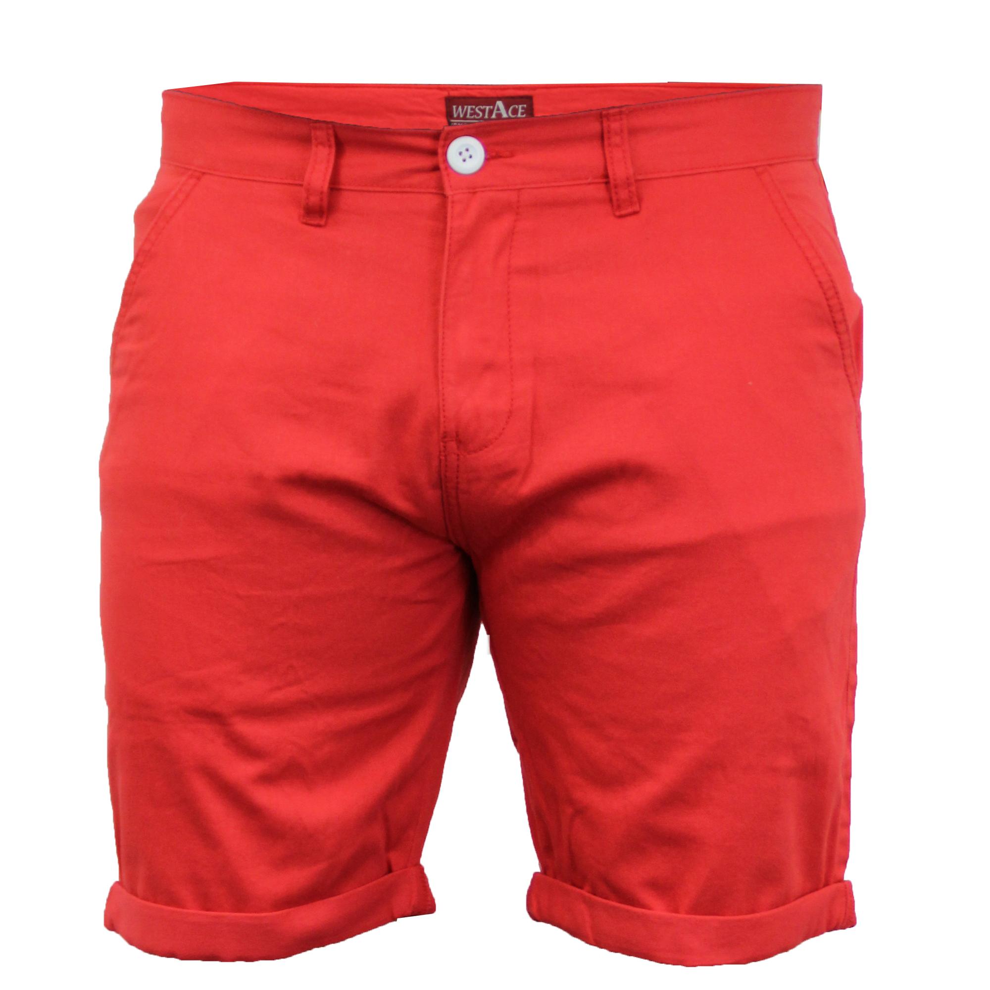 Mens Chino Shorts Threadbare Pants Westace Stallion Knee ...