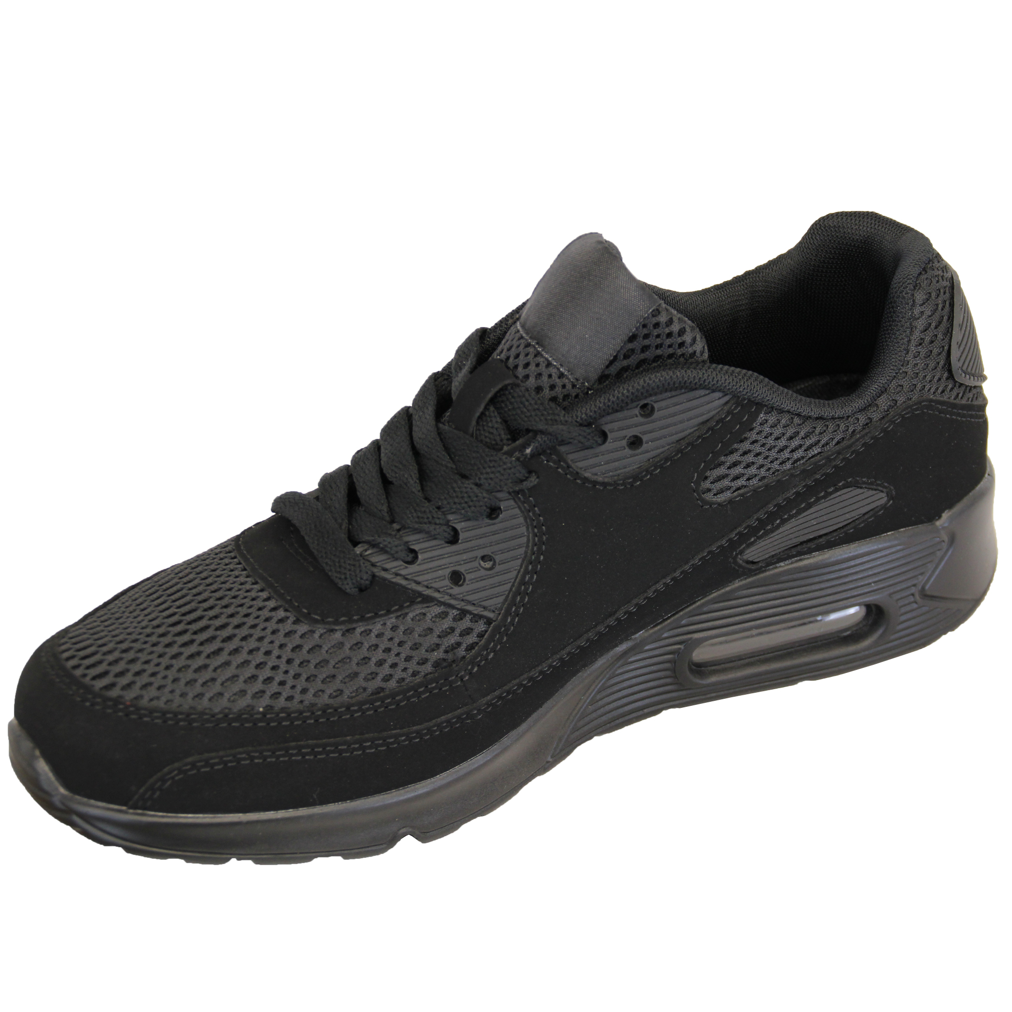 Mens-Bubble-Trainers-Lace-Up-Running-Shoes-Mesh-Jogging-Sports-Gym-Casual-New thumbnail 3