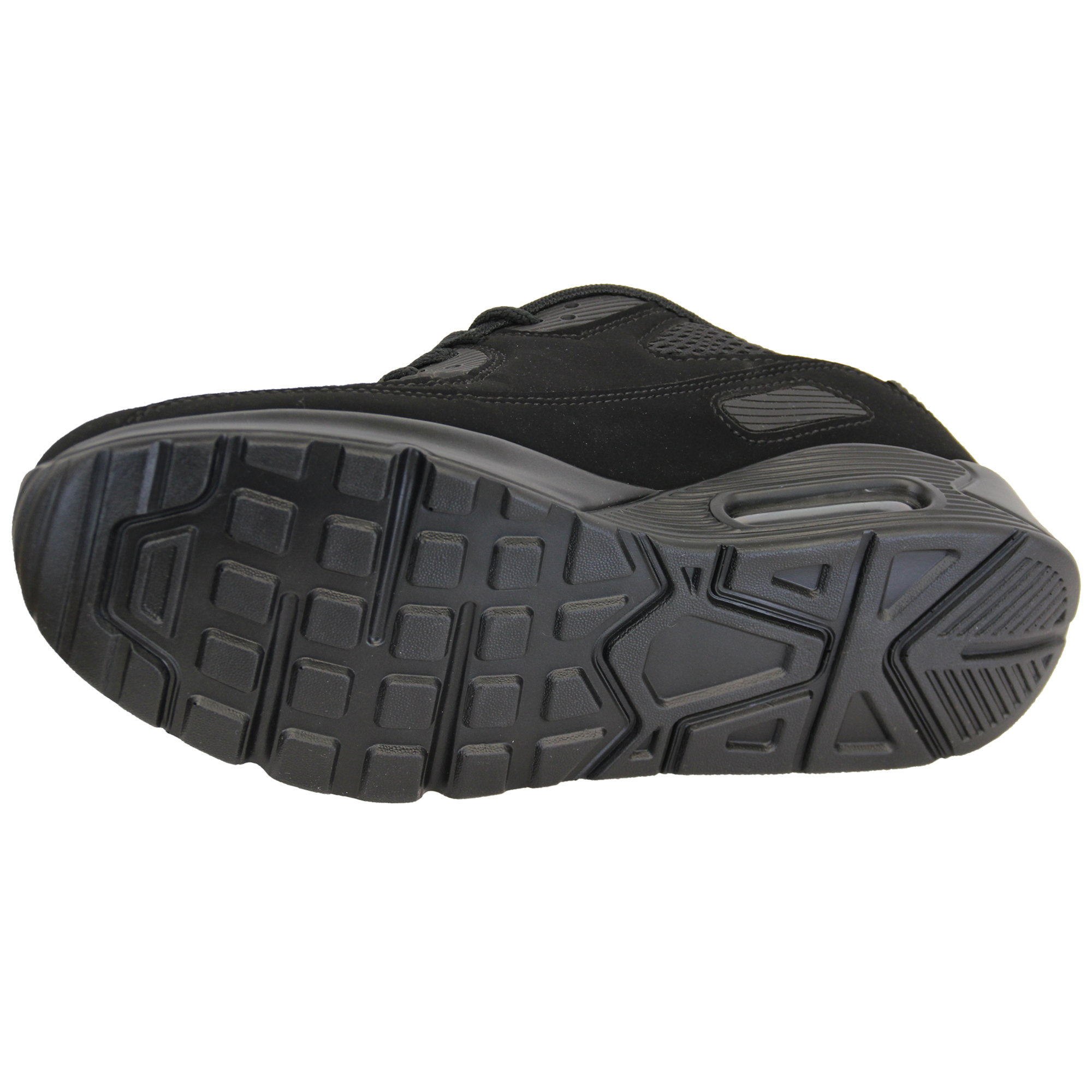 Mens-Bubble-Trainers-Lace-Up-Running-Shoes-Mesh-Jogging-Sports-Gym-Casual-New thumbnail 4