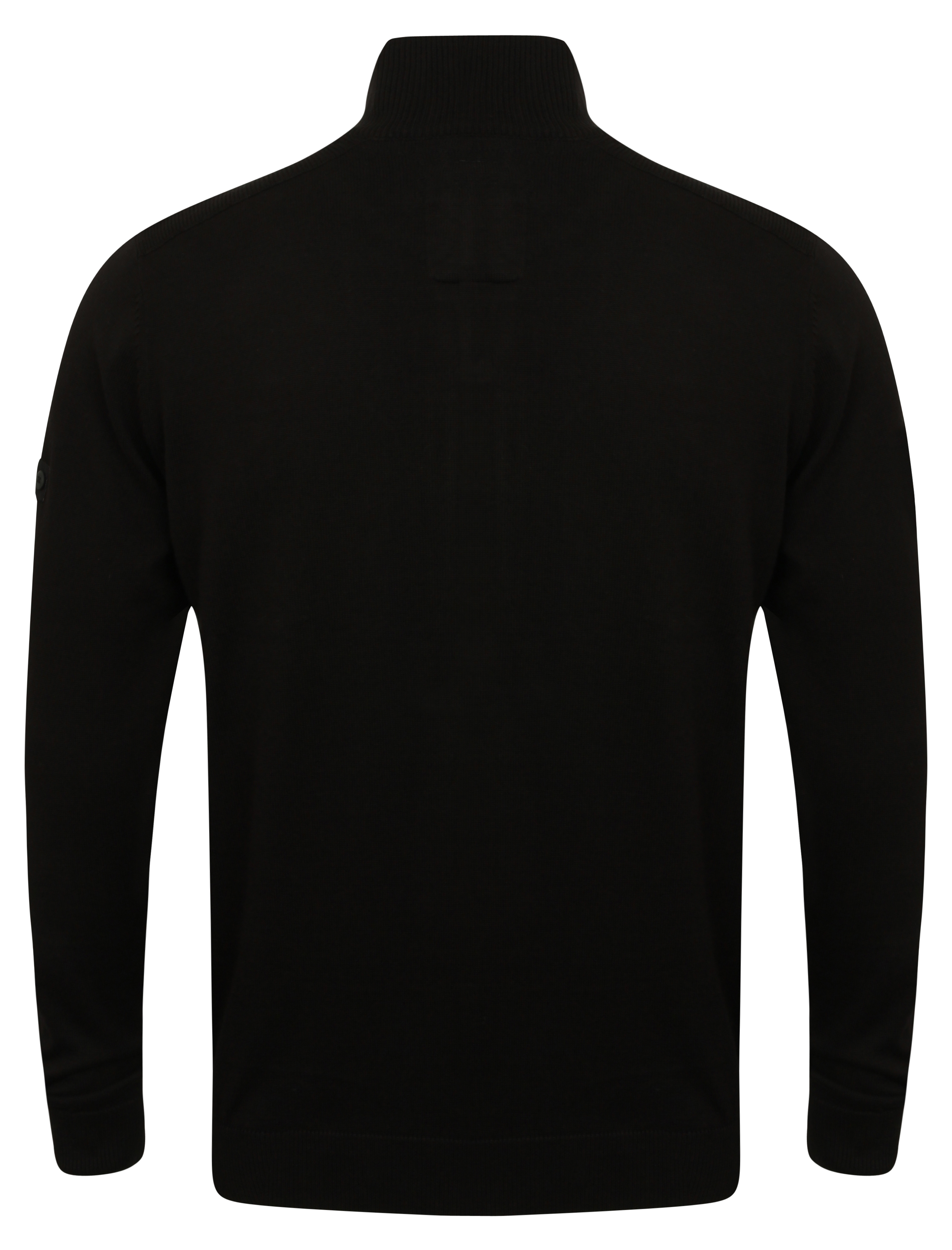 Mens-Dissident-Cardigan-Knitted-Jumper-Sweater-Top-Funnel-Neck-Casual-Winter-New thumbnail 3