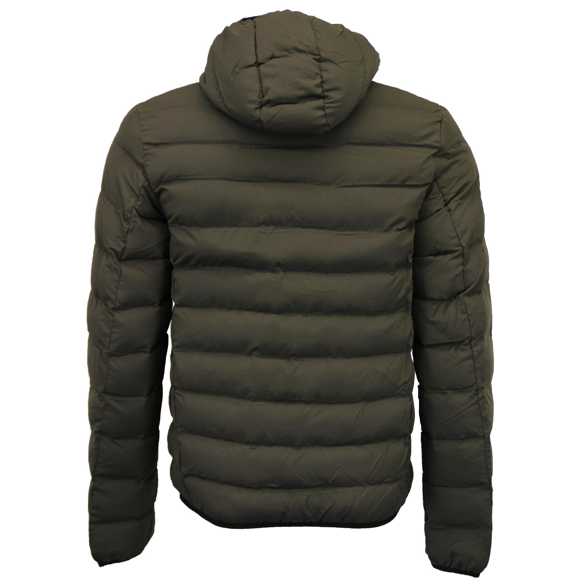 mens bubble jacket brave soul coat camo threadbare hooded. Black Bedroom Furniture Sets. Home Design Ideas