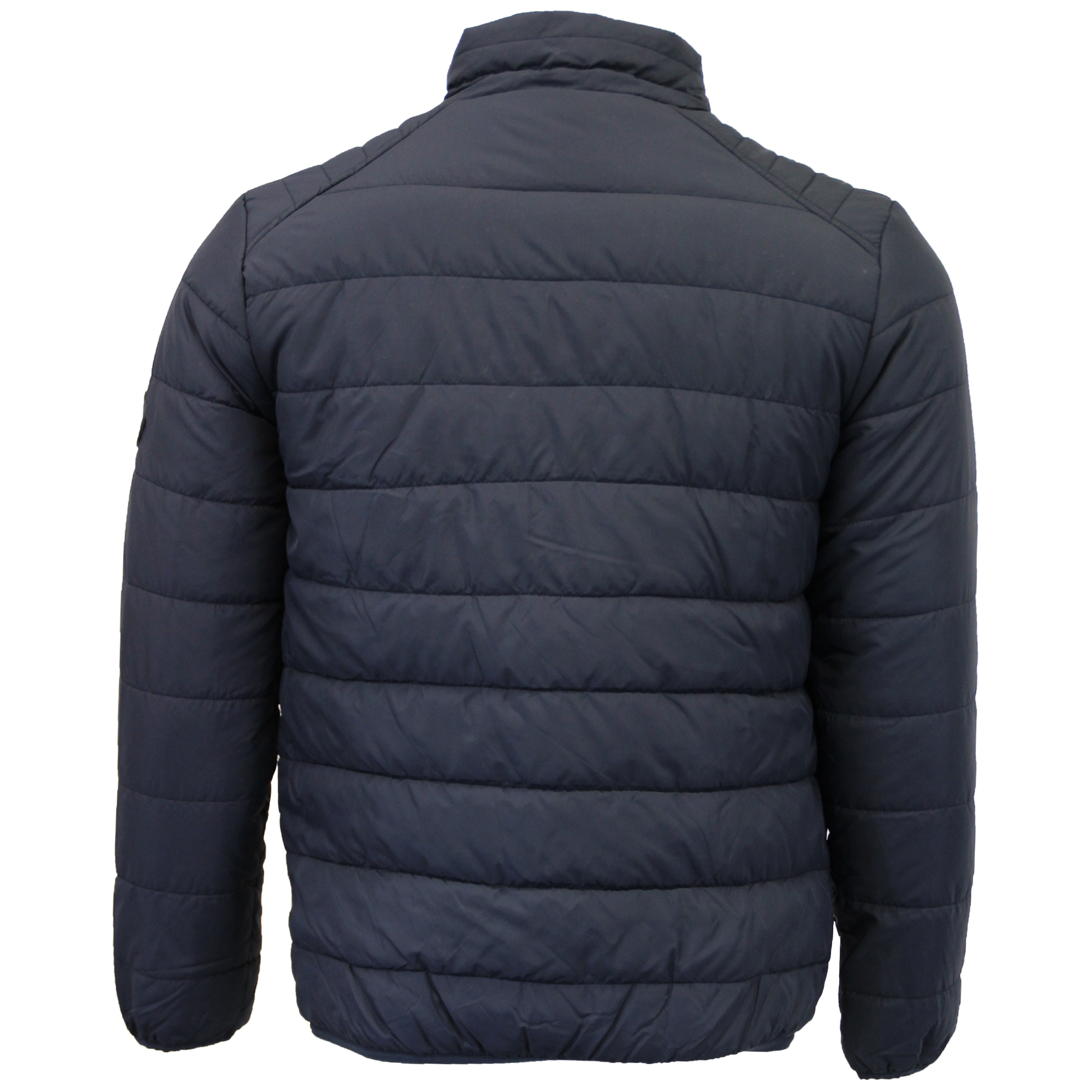 Mens Jacket Brave Soul Coat Padded Quilted Bomber Puffer ...
