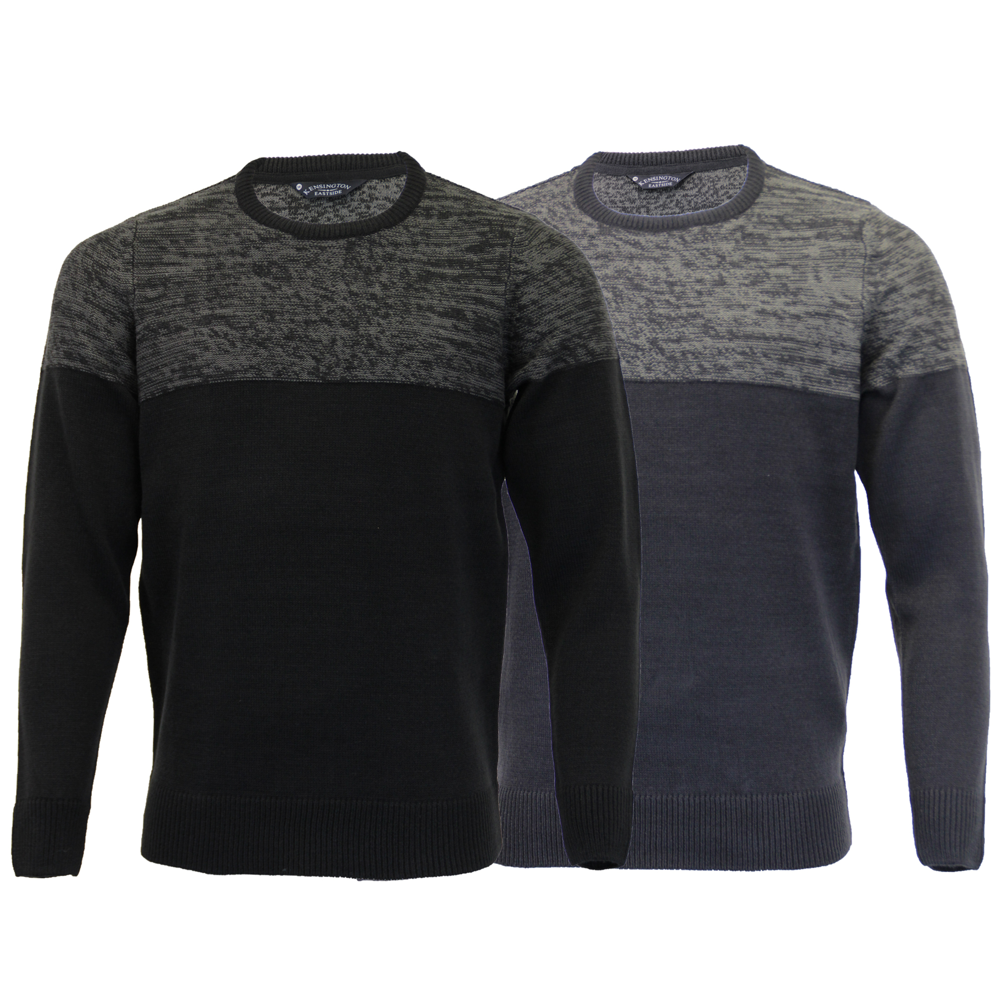 Details about Mens Knitted Jumper Kensington Eastside Sweater Pullover Top Acrylic Winter New