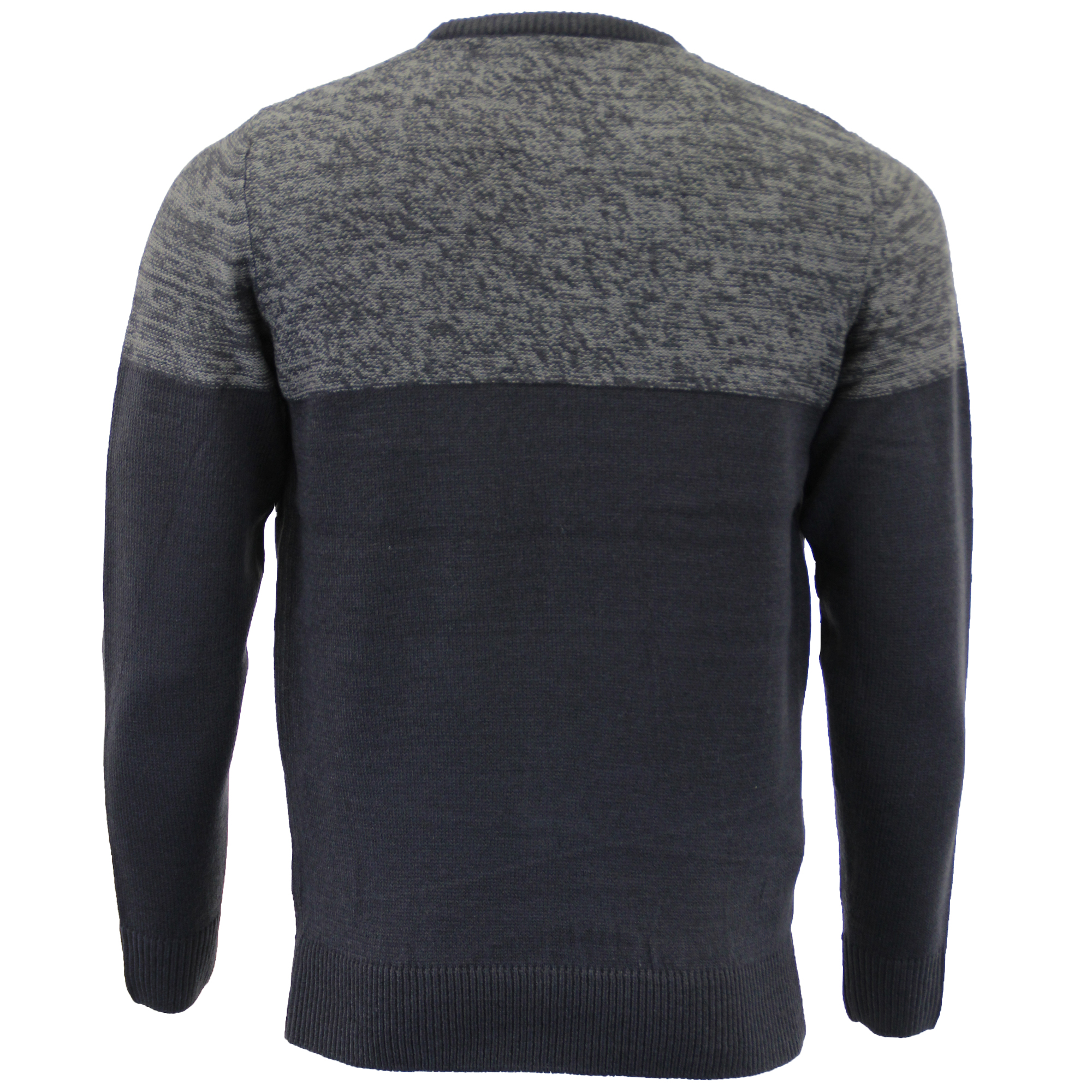 Mens-Knitted-Jumper-Kensington-Eastside-Sweater-Pullover-Top-Acrylic-Winter-New thumbnail 5