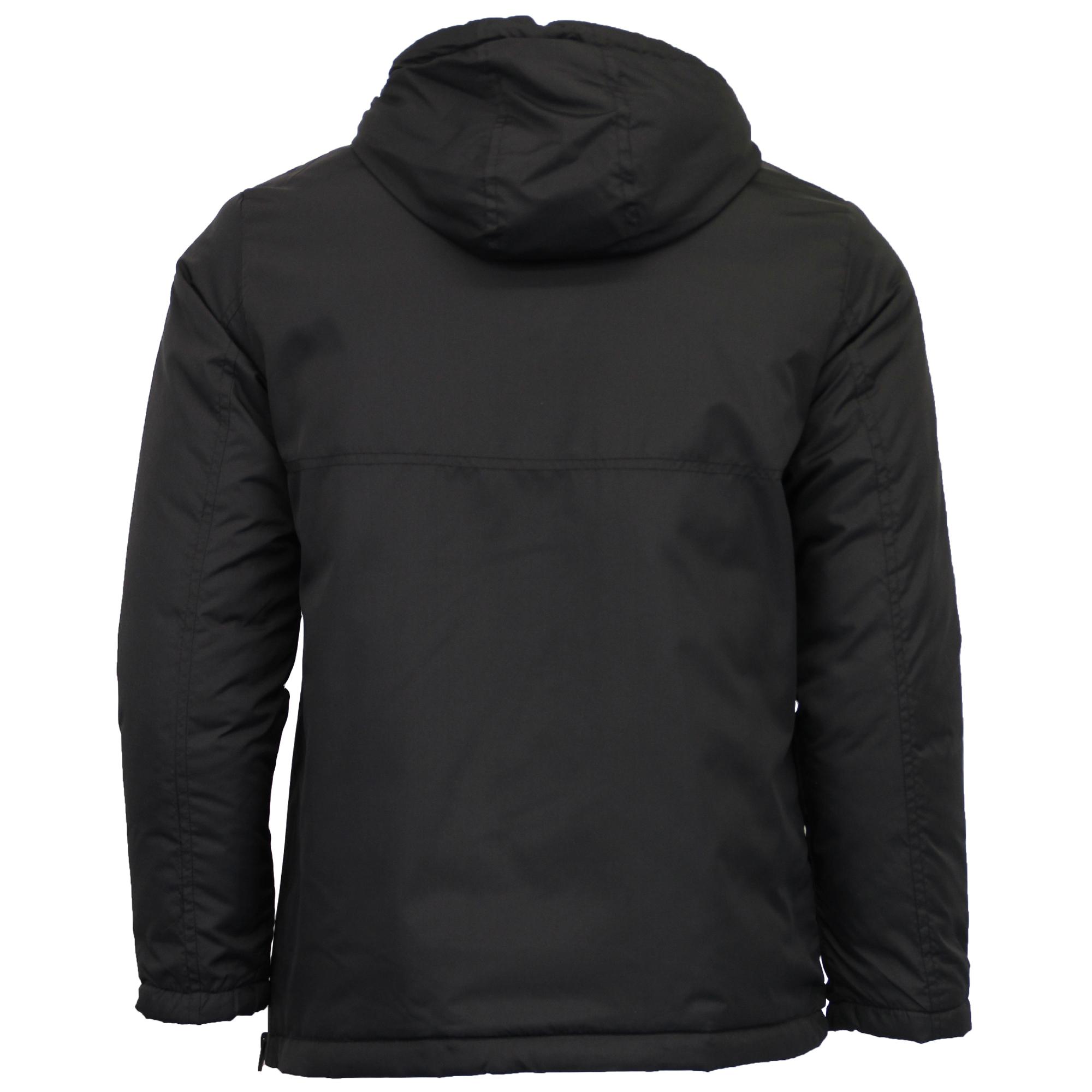 Jacket over hoodie