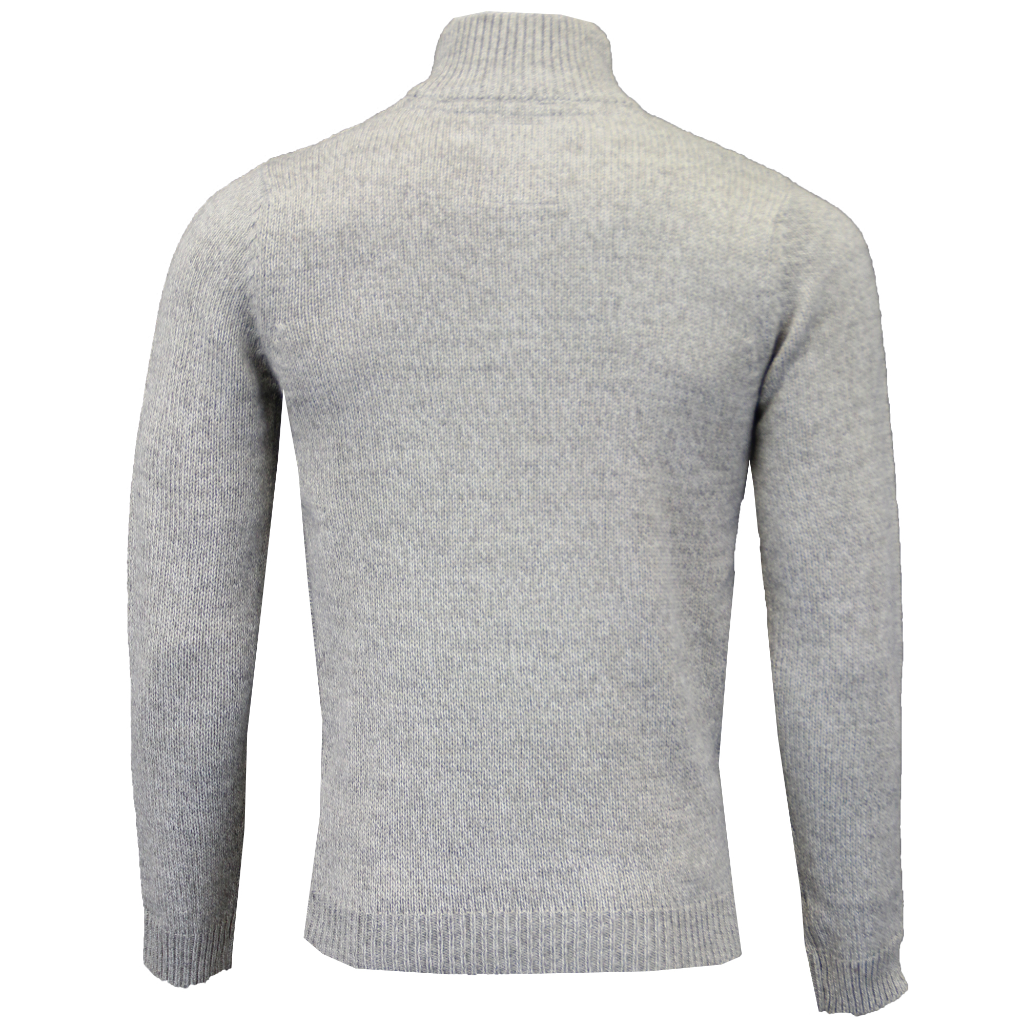 Mens-Wool-Mix-Jumper-Threadbare-Knitted-Sweater-Pullover-Top-Chunky-Zip-Winter thumbnail 21