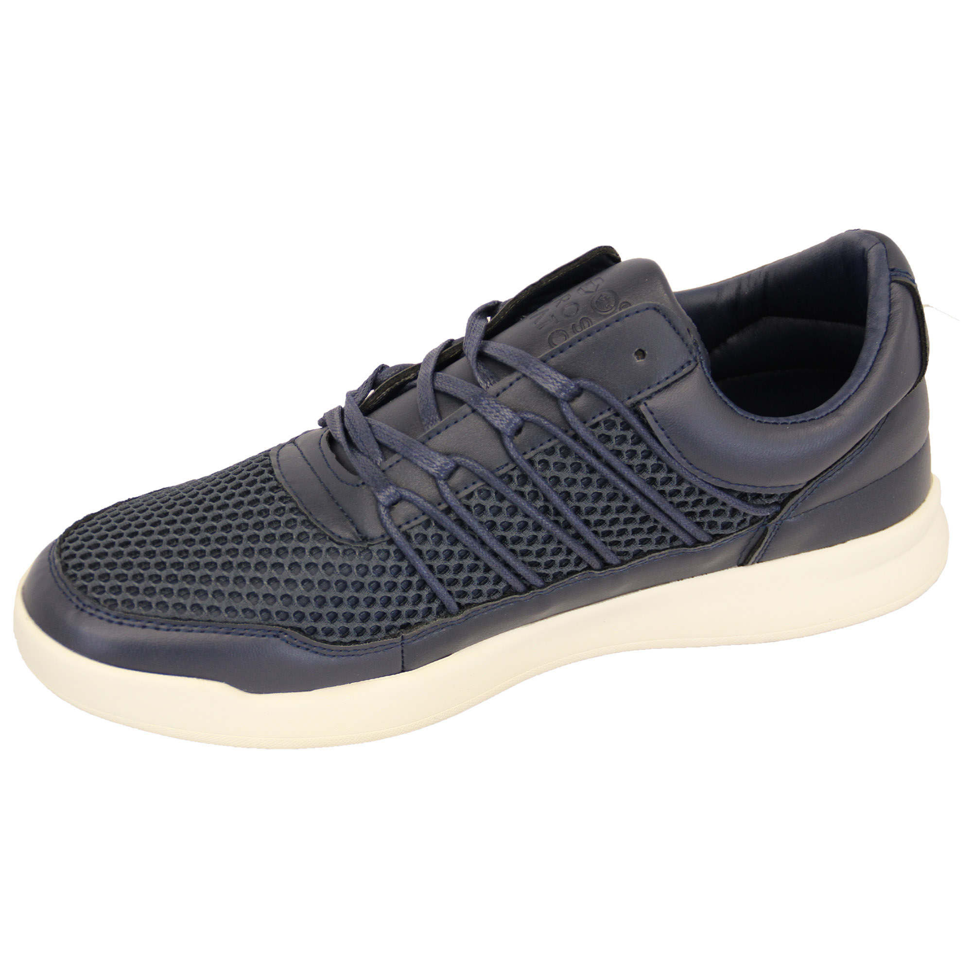 Mens-Trainers-Crosshatch-Jogging-Shoes-Lace-Up-Walking-Running-Sports-Gym-Mesh thumbnail 10