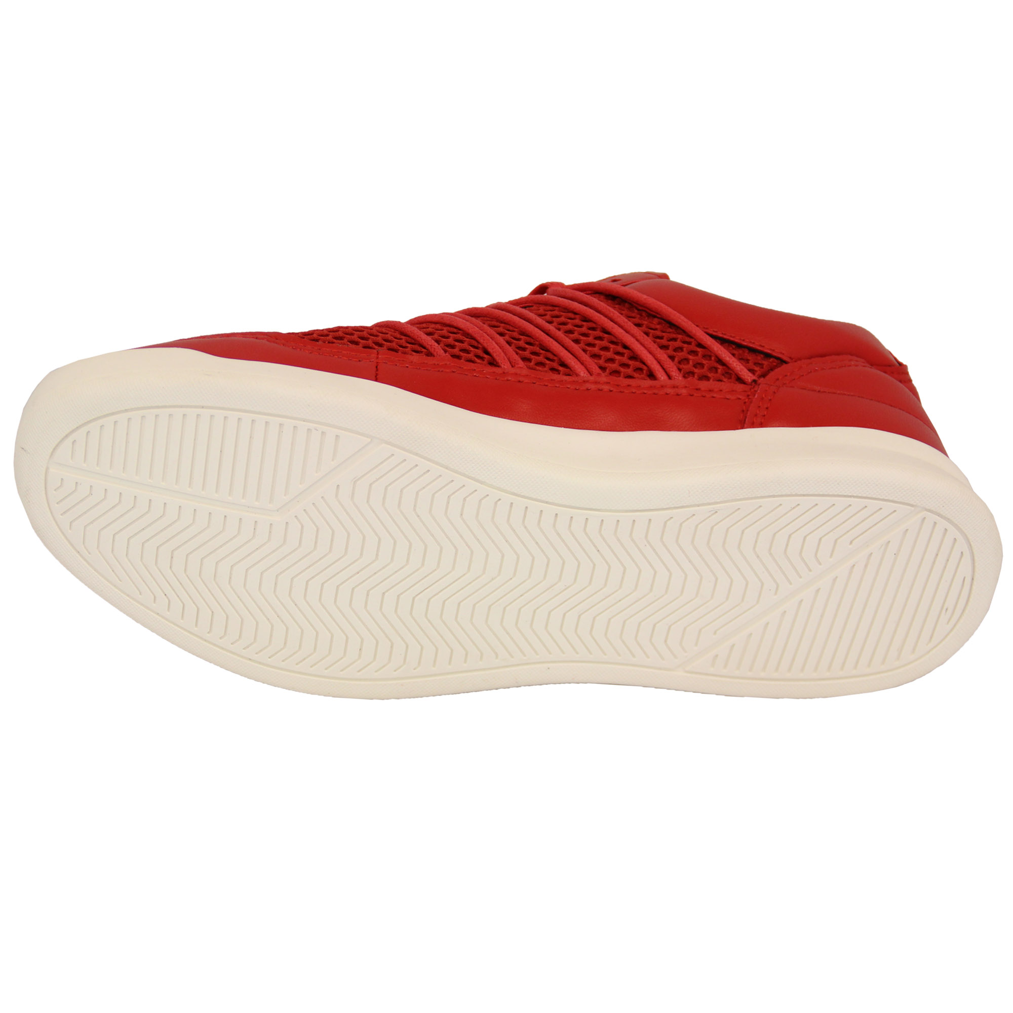 Mens-Trainers-Crosshatch-Jogging-Shoes-Lace-Up-Walking-Running-Sports-Gym-Mesh thumbnail 7