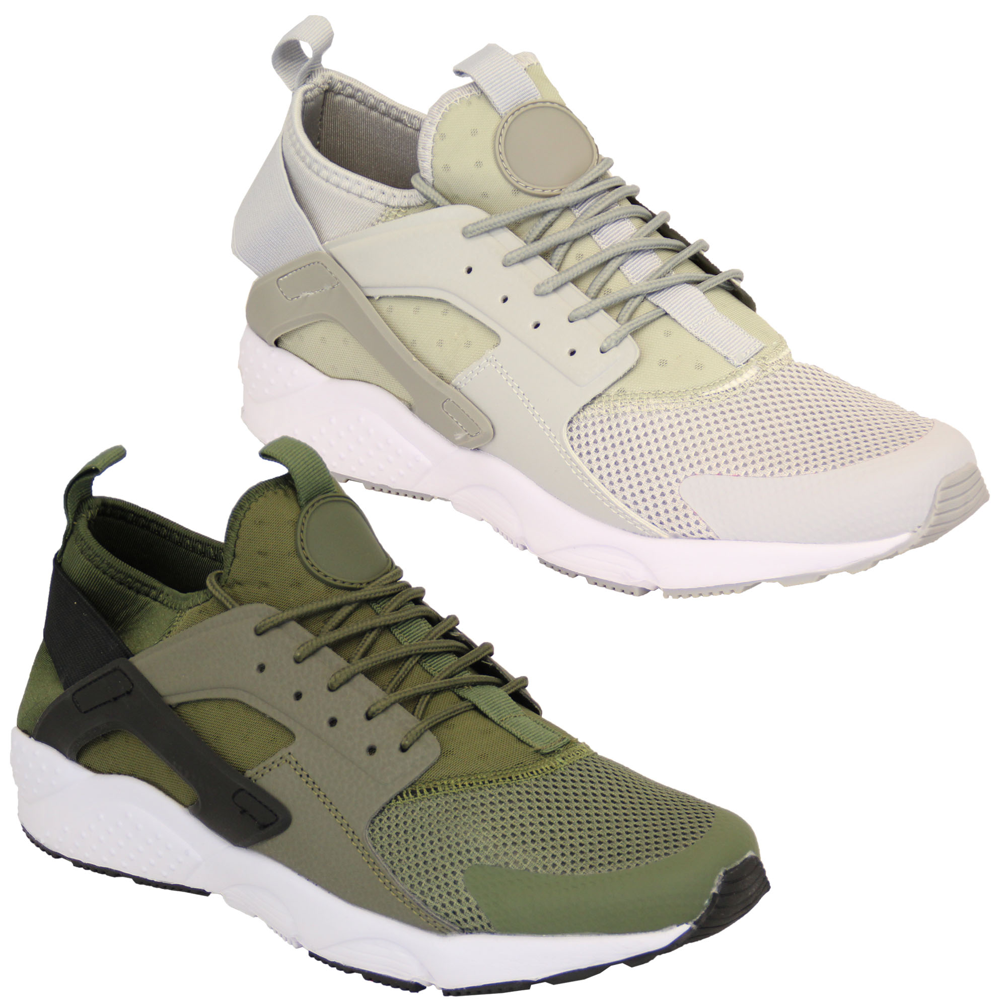 Mens-Trainers-Shoes-Lace-Up-Sneakers-Running-Gym-Sports-Mesh-Casual-Fashion-New thumbnail 5