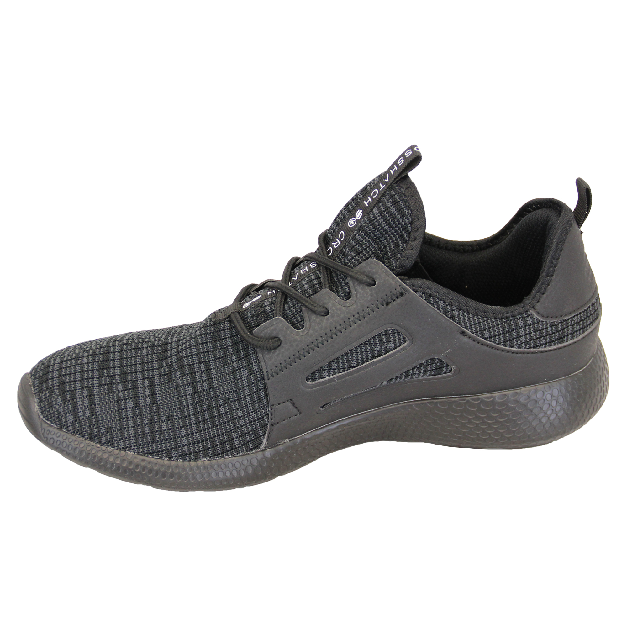 Mens-Trainers-Crosshatch-Jogging-Shoes-Lace-Up-Walking-Running-Sports-Gym-New thumbnail 3