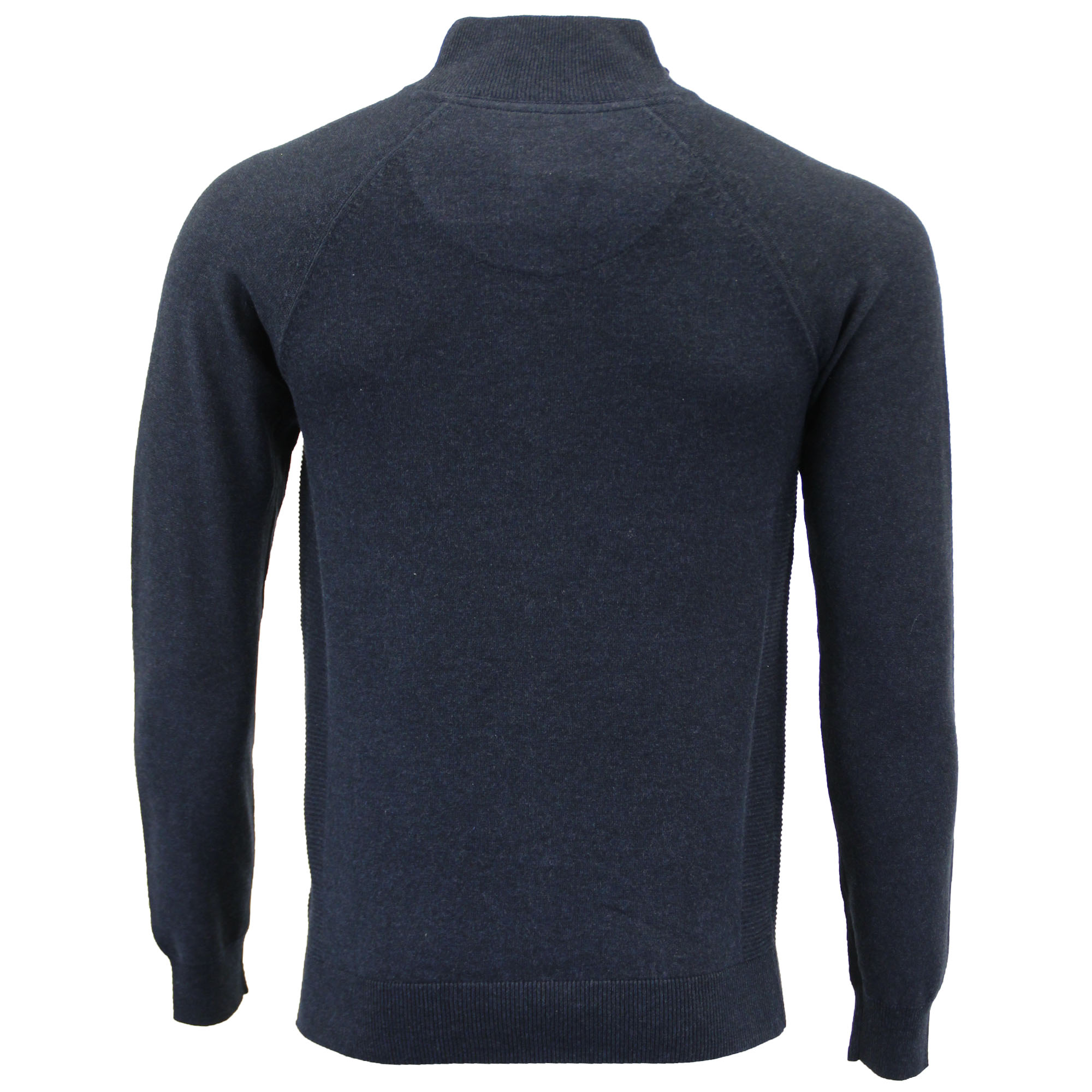 Mens-Jumper-Threadbare-Knitted-Cotton-Sweater-Half-Zip-Pullover-Top-Winter-New thumbnail 25