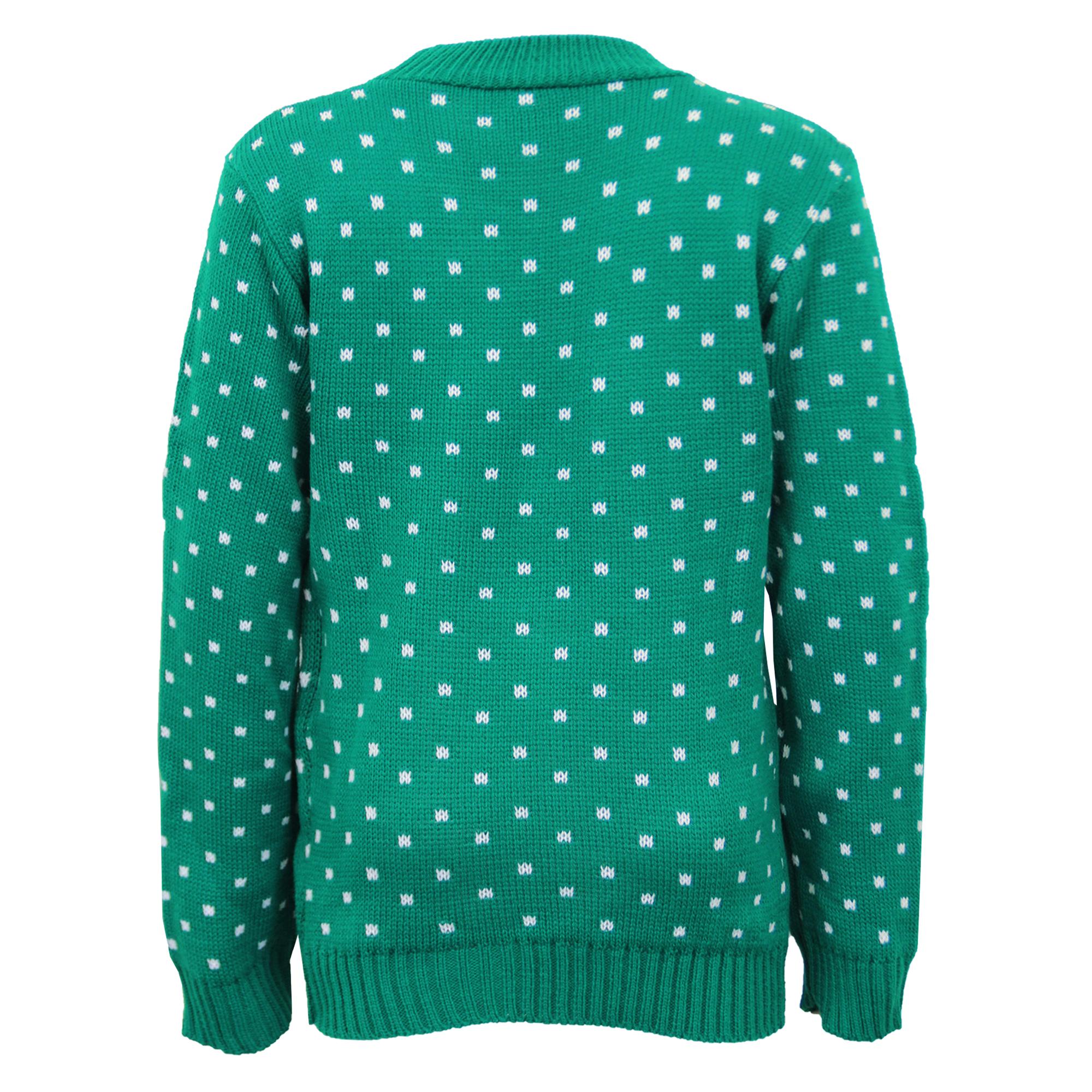 Boys-Christmas-Girls-Jumper-XMAS-Kids-Rudolph-Knitted-Pom-3D-Novelty-Winter-New thumbnail 6