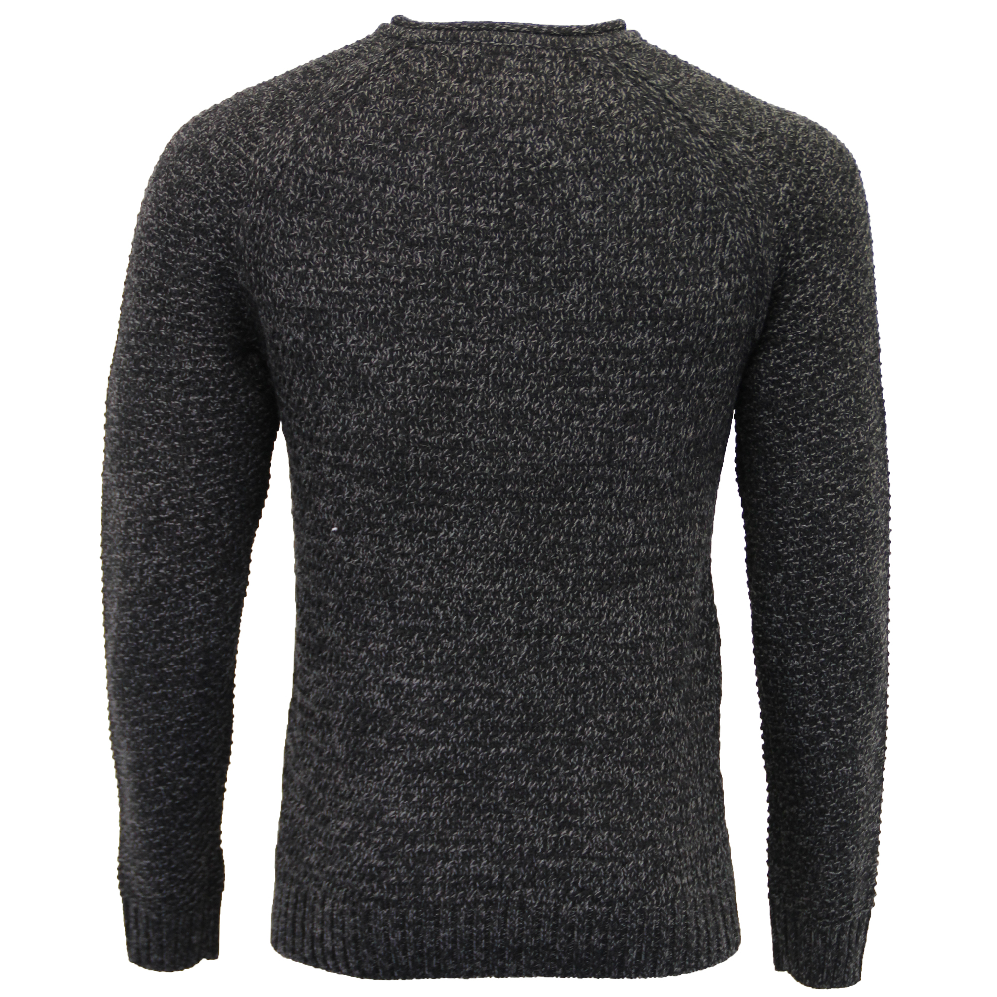 Mens-Wool-Mix-Jumper-Threadbare-Cable-Knitted-Sweater-Pullover-Top-Casual-Winter thumbnail 3