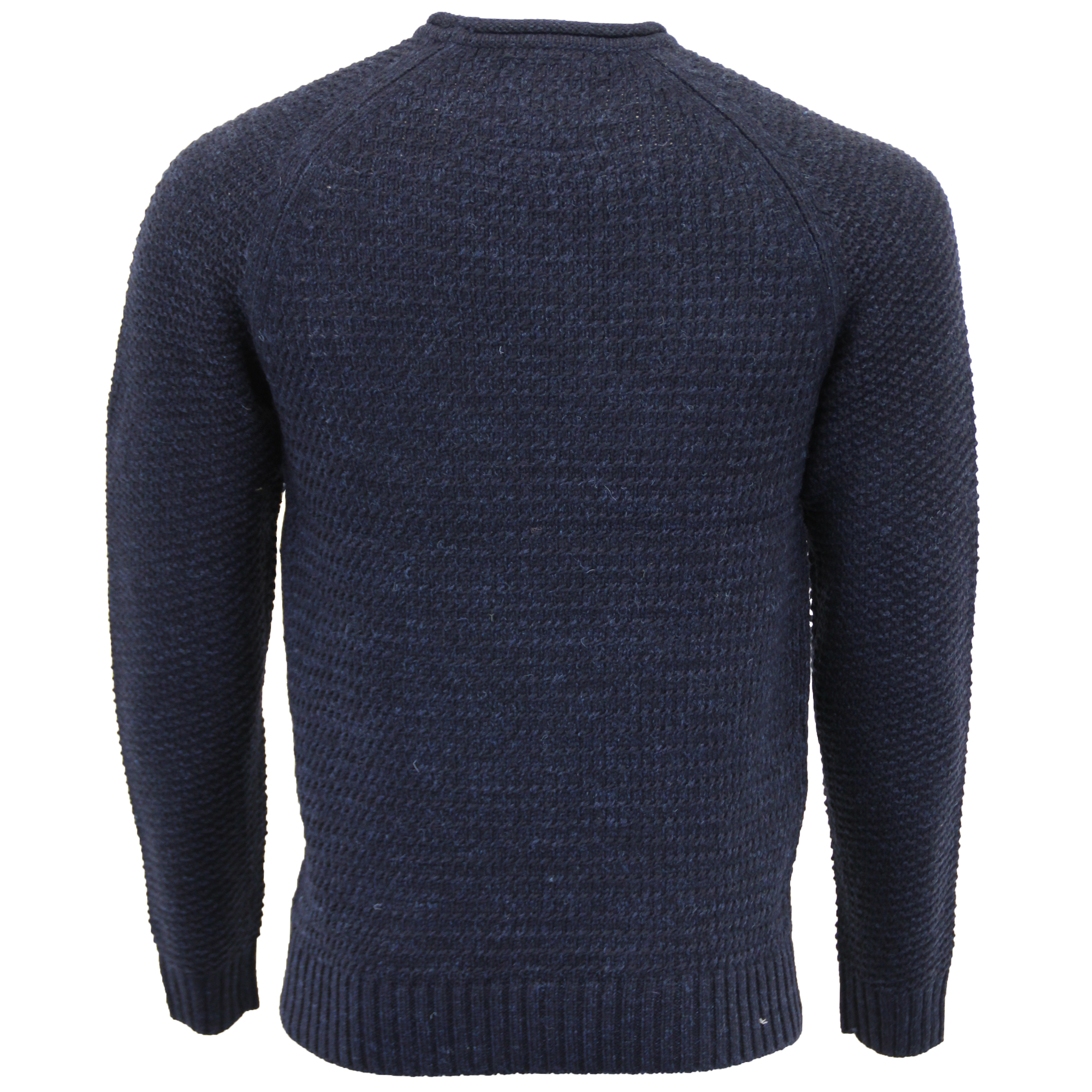 Mens-Wool-Mix-Jumper-Threadbare-Cable-Knitted-Sweater-Pullover-Top-Casual-Winter thumbnail 6