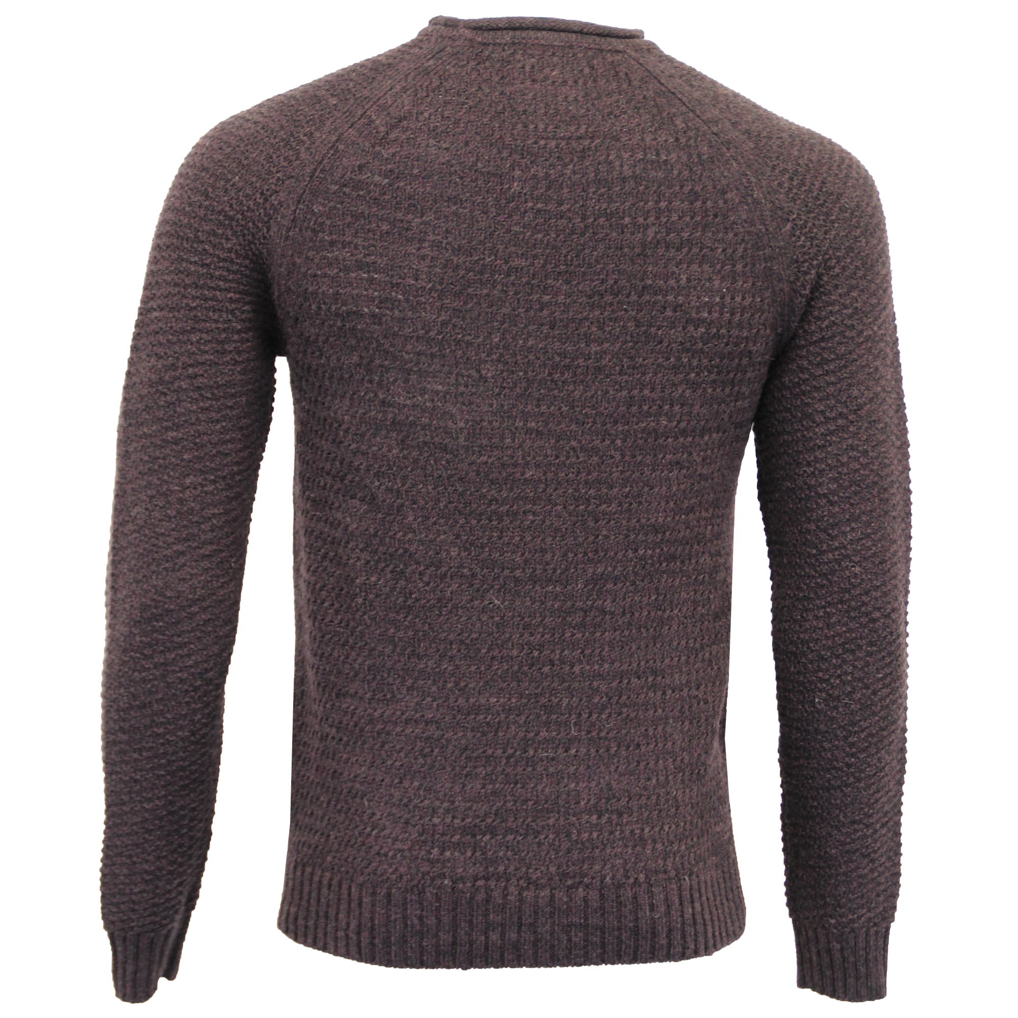 Mens-Wool-Mix-Jumper-Threadbare-Cable-Knitted-Sweater-Pullover-Top-Casual-Winter thumbnail 9