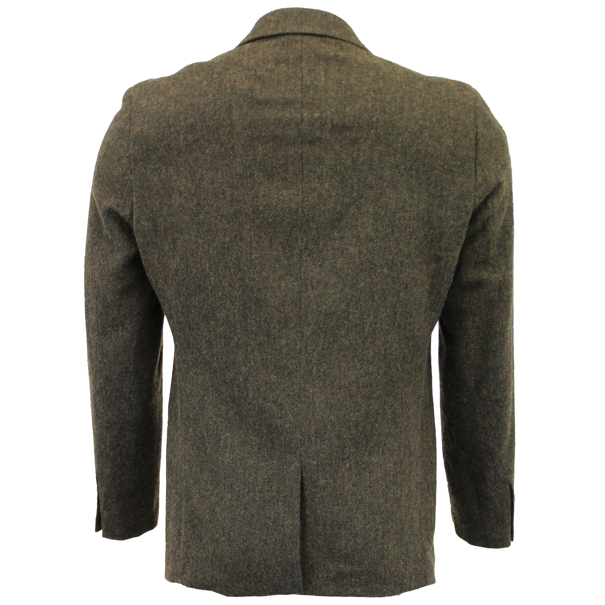 Mezcla-de-lana-para-hombre-3-piezas-trajes-mareno-Blazer-Chaqueta-pantalones-chaleco-Fiesta-Formal miniatura 17
